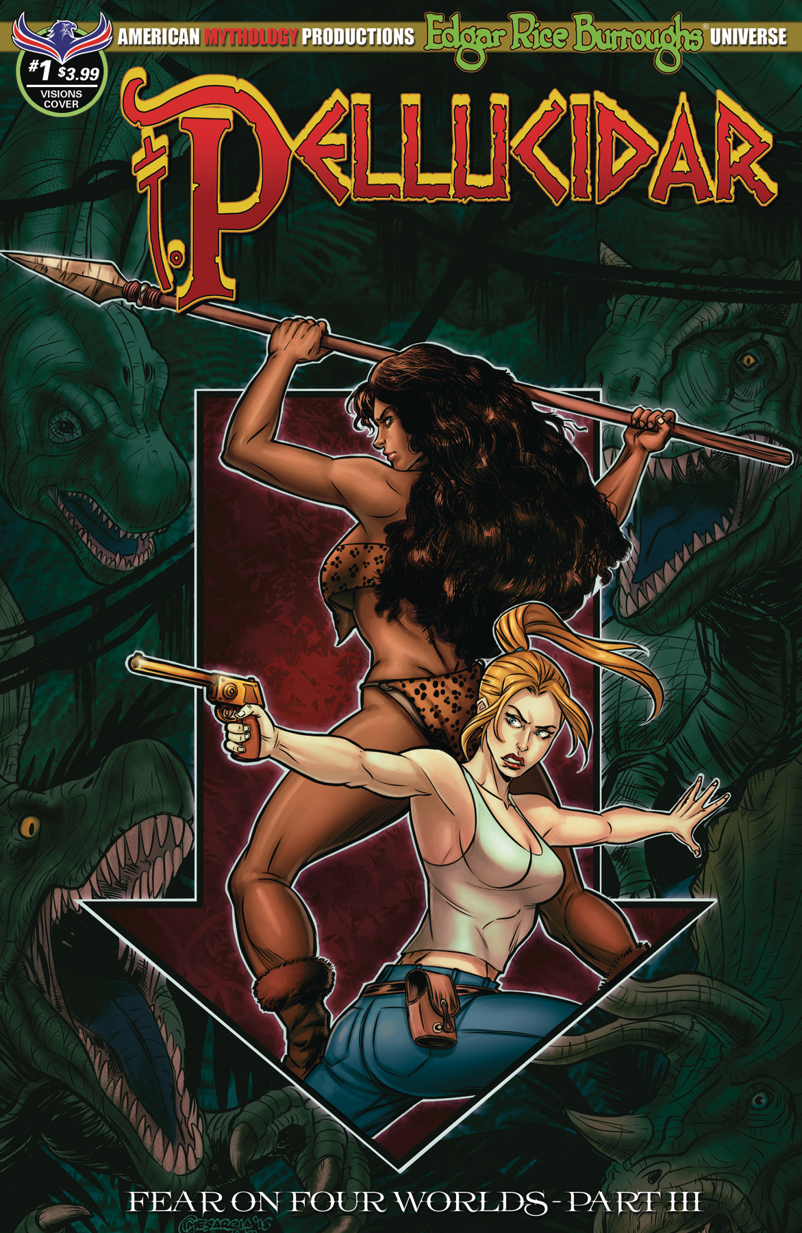 PELLUCIDAR #1 MESARCIA DEPTHS OF THE EARTH CVR