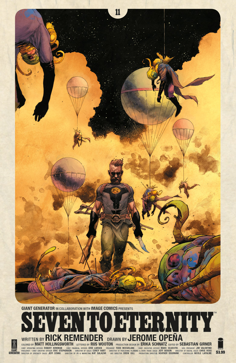 SEVEN TO ETERNITY #11 CVR A OPENA & HOLLINGSWORTH