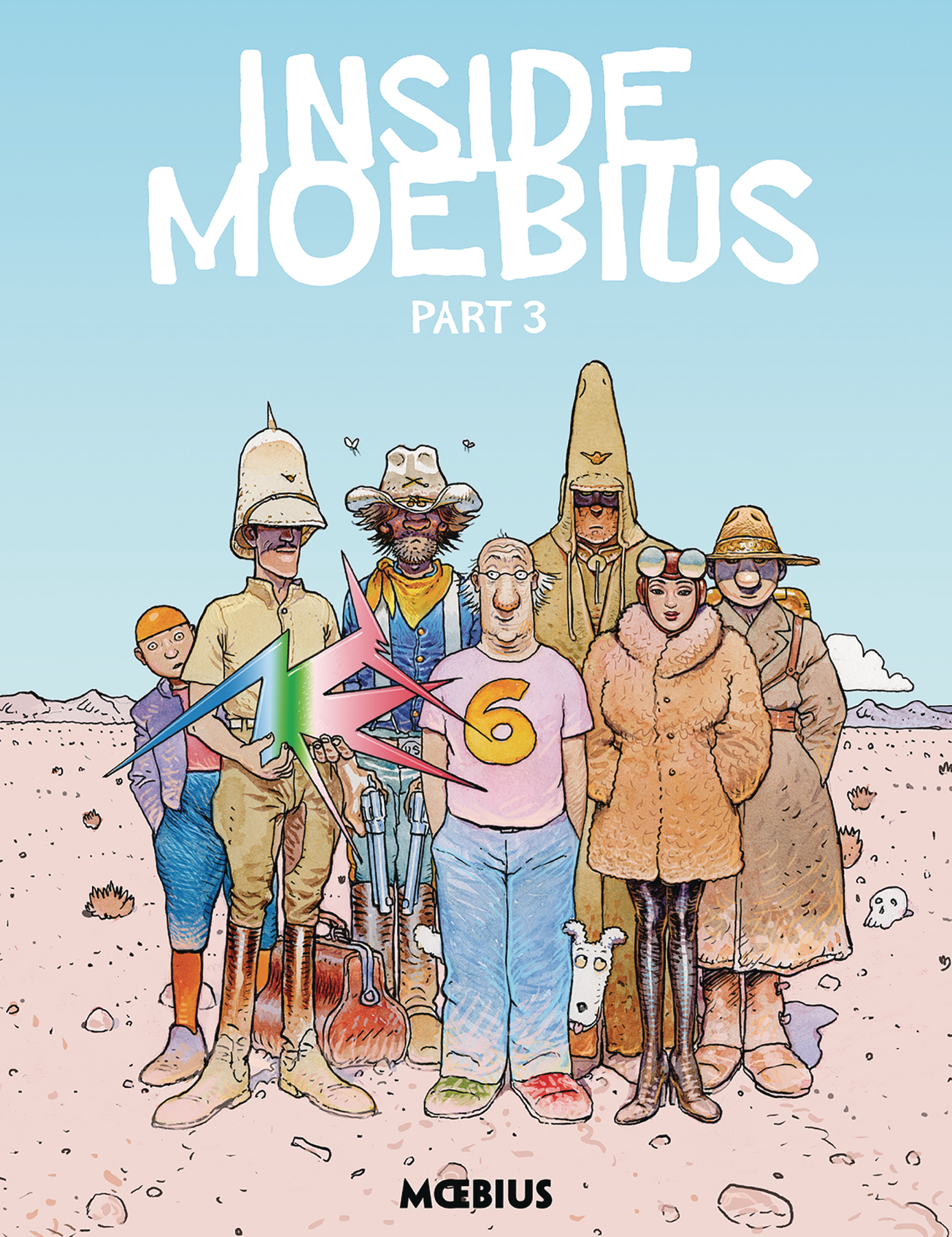 MOEBIUS LIBRARY INSIDE MOEBIUS HC VOL 03 (JUN180337)