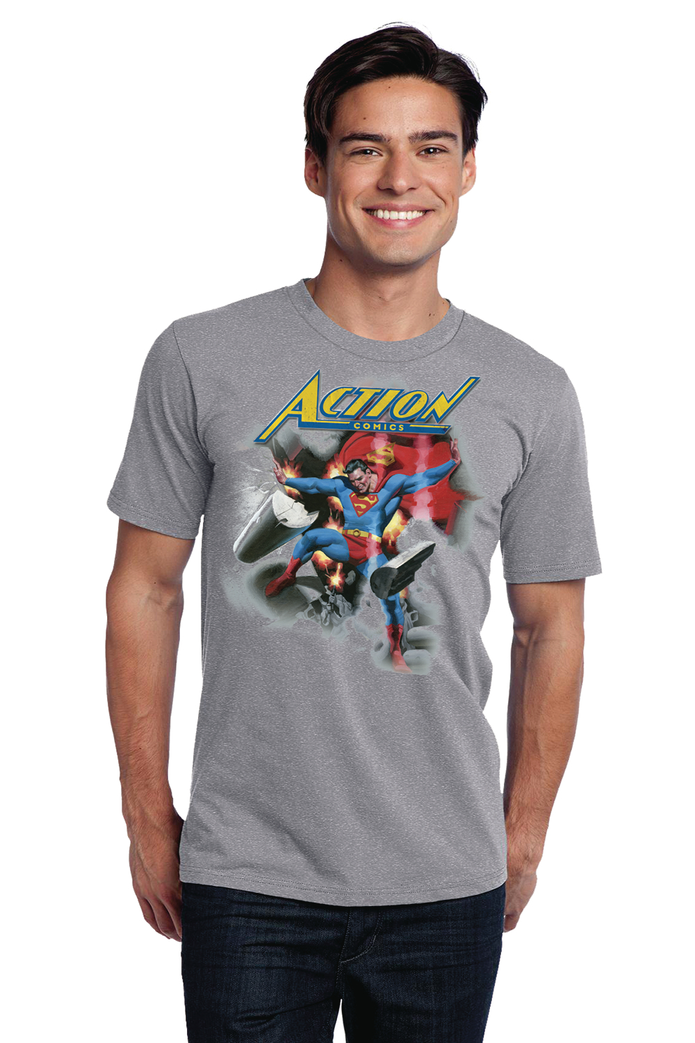 ACTION #1000 SUPERMAN 1930S T/S XL