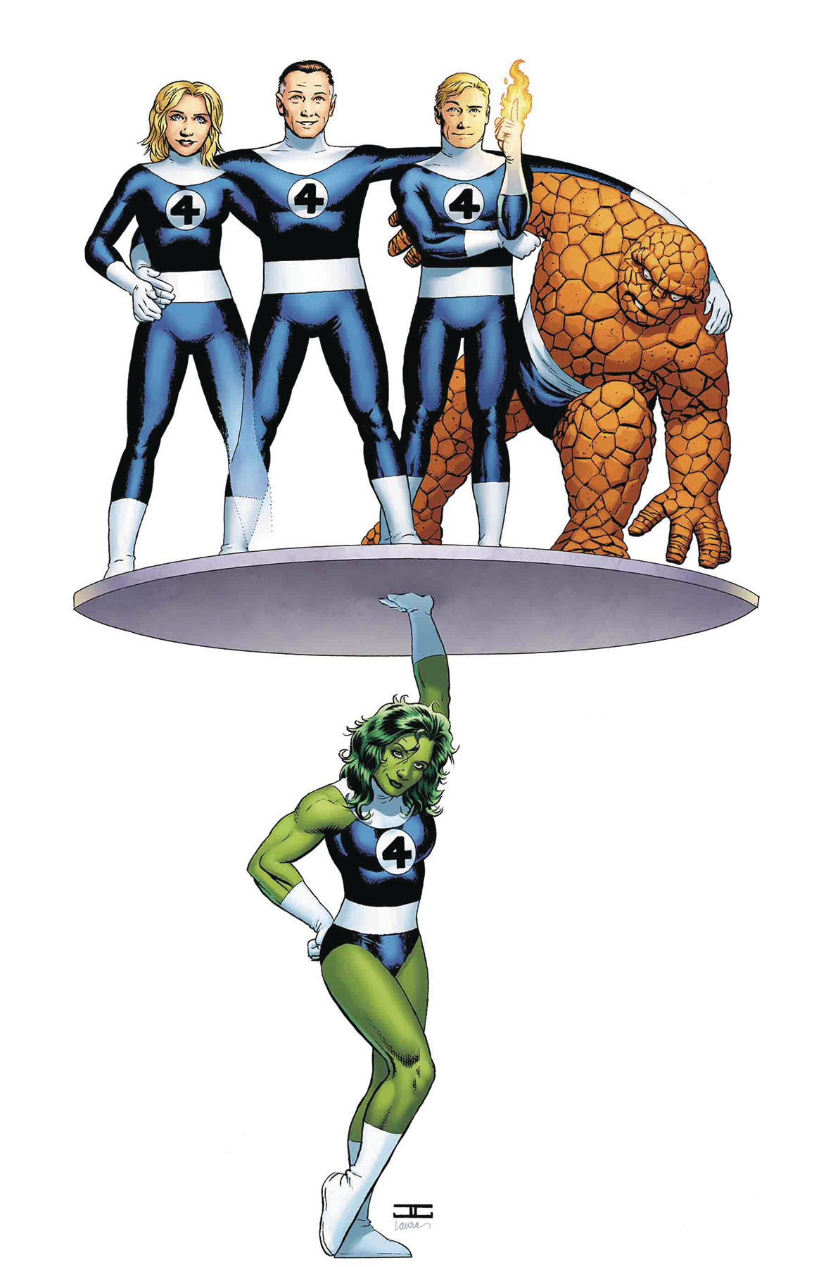 AVENGERS #6 CASSADAY RETURN OF FANTASTIC FOUR VAR