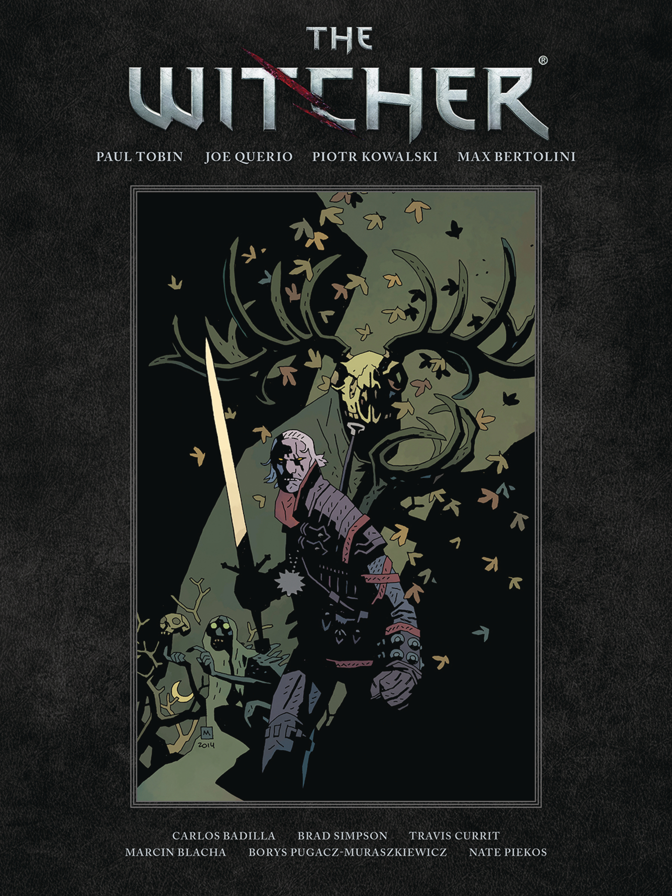 WITCHER LIBRARY EDITION HC
