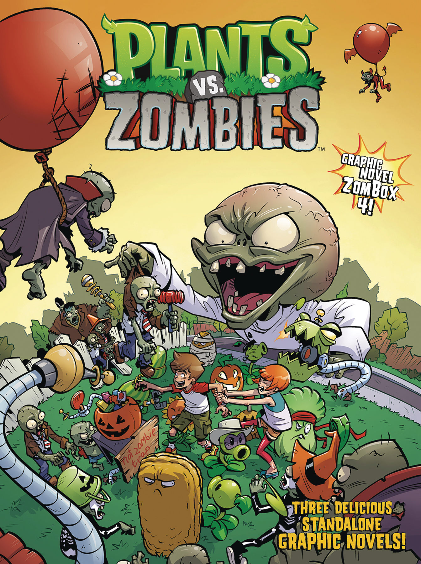 PLANTS VS ZOMBIES HC BOX SET VOL 04