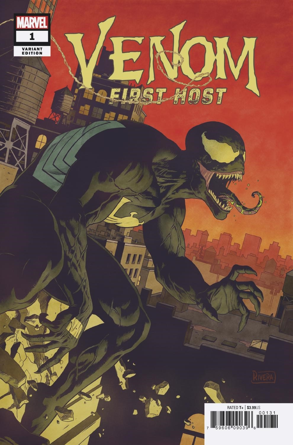 VENOM FIRST HOST #1 (OF 5) RIVERA VAR