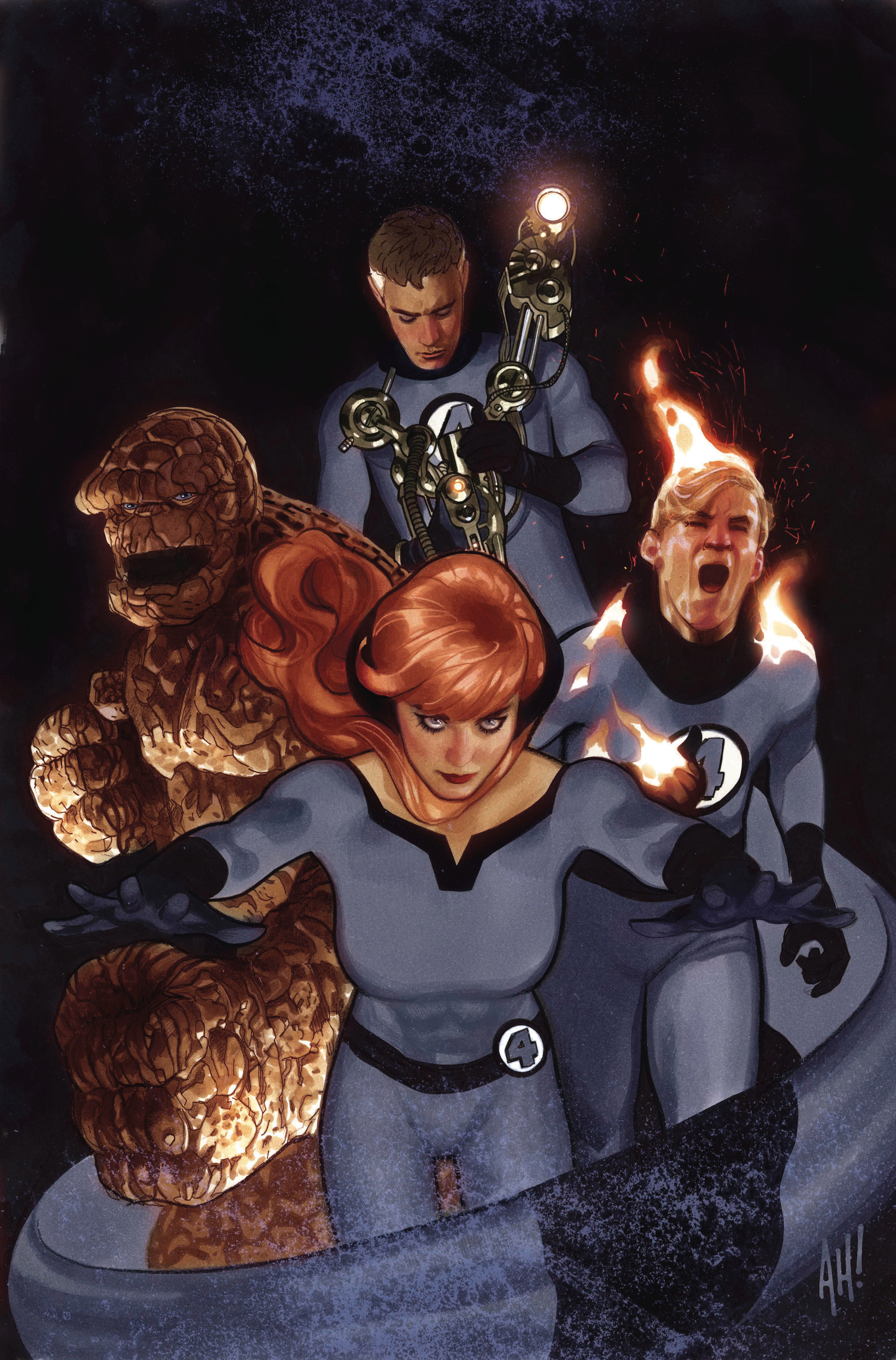 TONY STARK IRON MAN #3 HUGHES RETURN OF FANTASTIC FOUR VAR