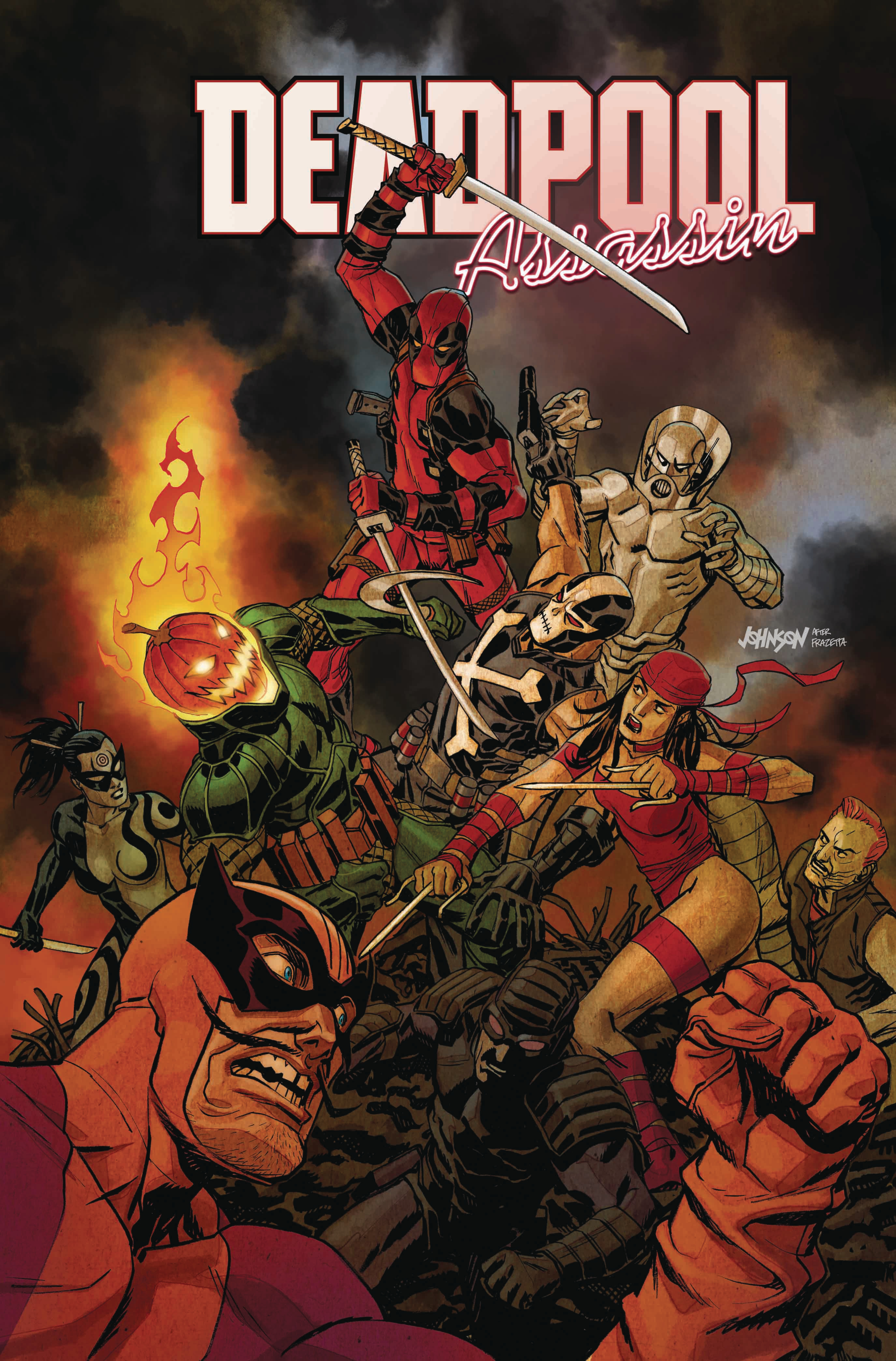 DEADPOOL ASSASSIN #5 (OF 6) JOHNSON VAR