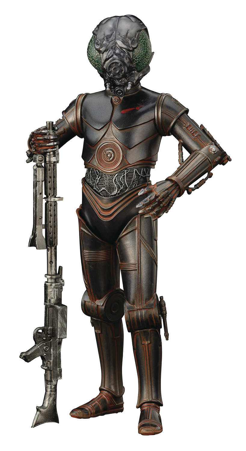 STAR WARS BOUNTY HUNTER 4-LOM ARTFX+ STATUE