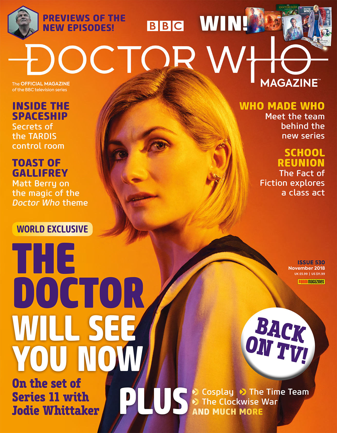 DOCTOR WHO MAGAZINE #530