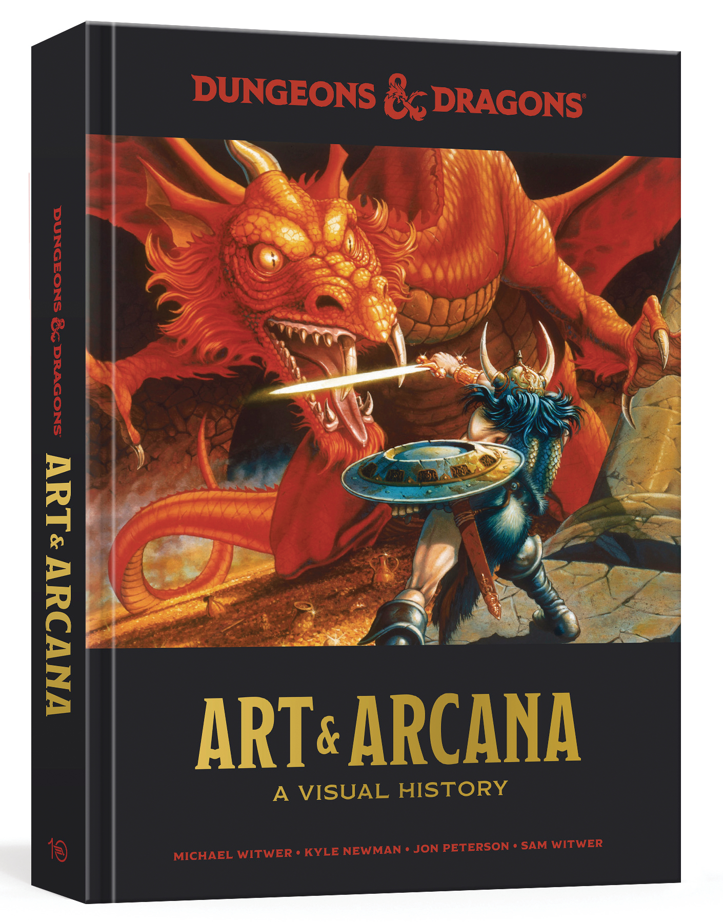 DUNGEONS & DRAGONS ART AND ARCANA VISUAL HIST HC