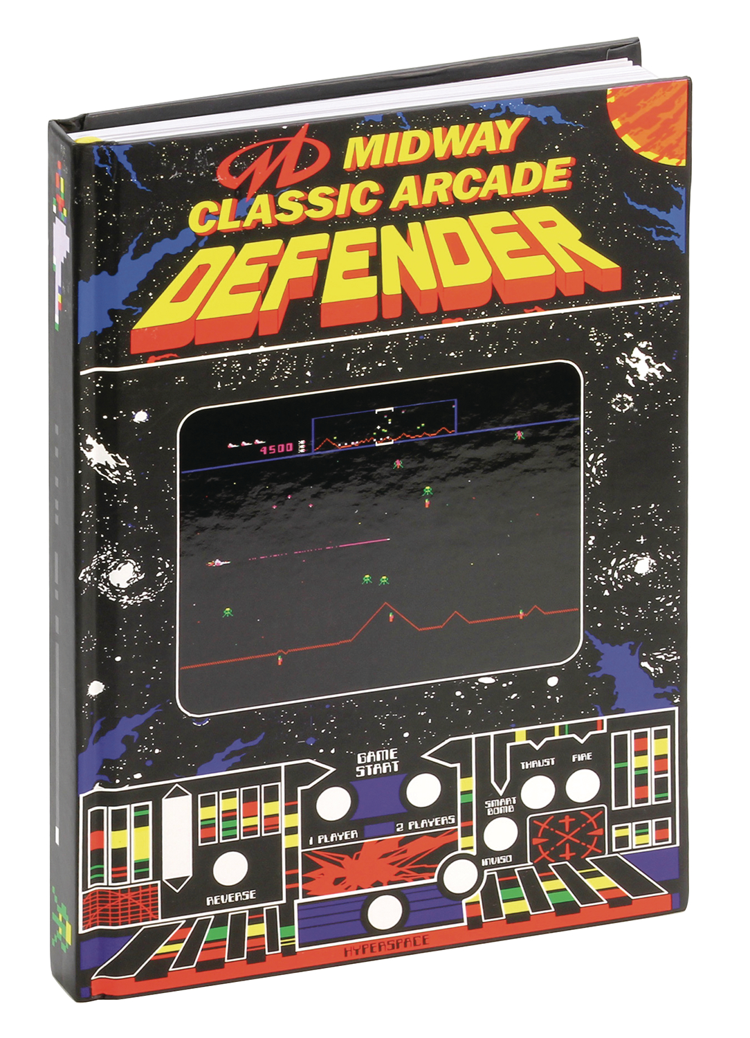 MIDWAY DEFENDER HARD COVER JOURNAL