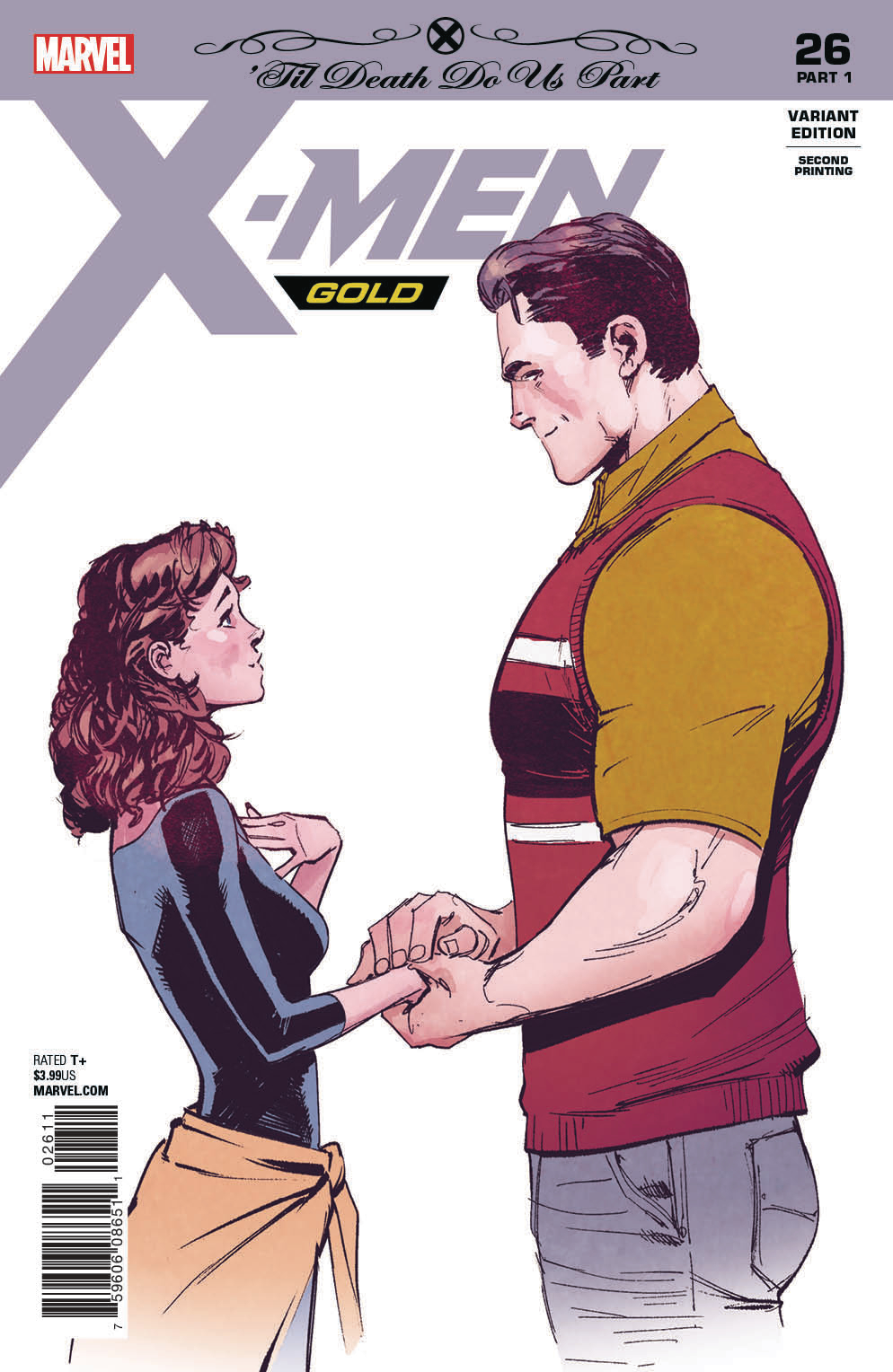 X-MEN GOLD #26 2ND PTG MARQUEZ VAR