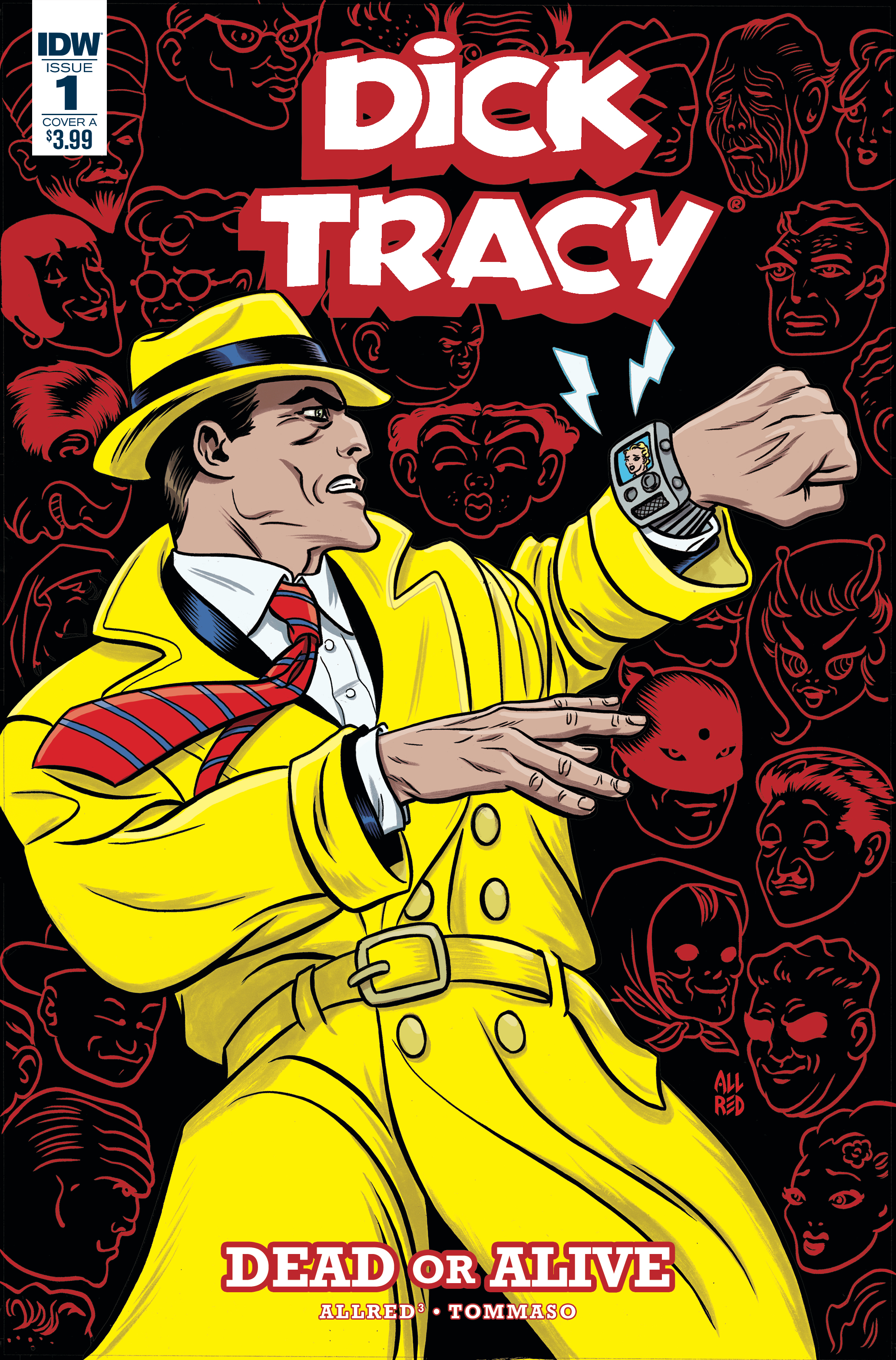 DICK TRACY DEAD OR ALIVE #1