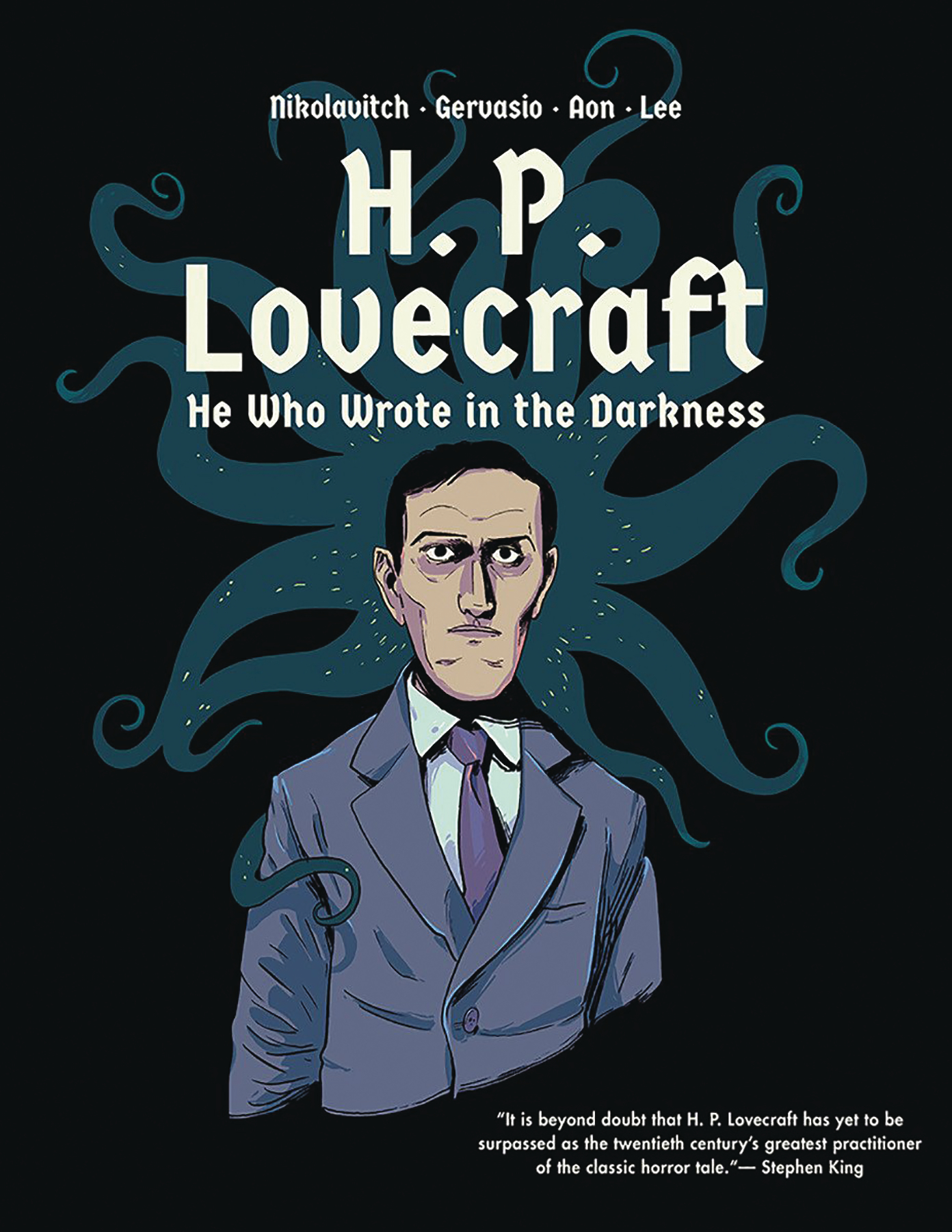 H P LOVECRAFT HE WHO WROTE IN DARKNESS GN