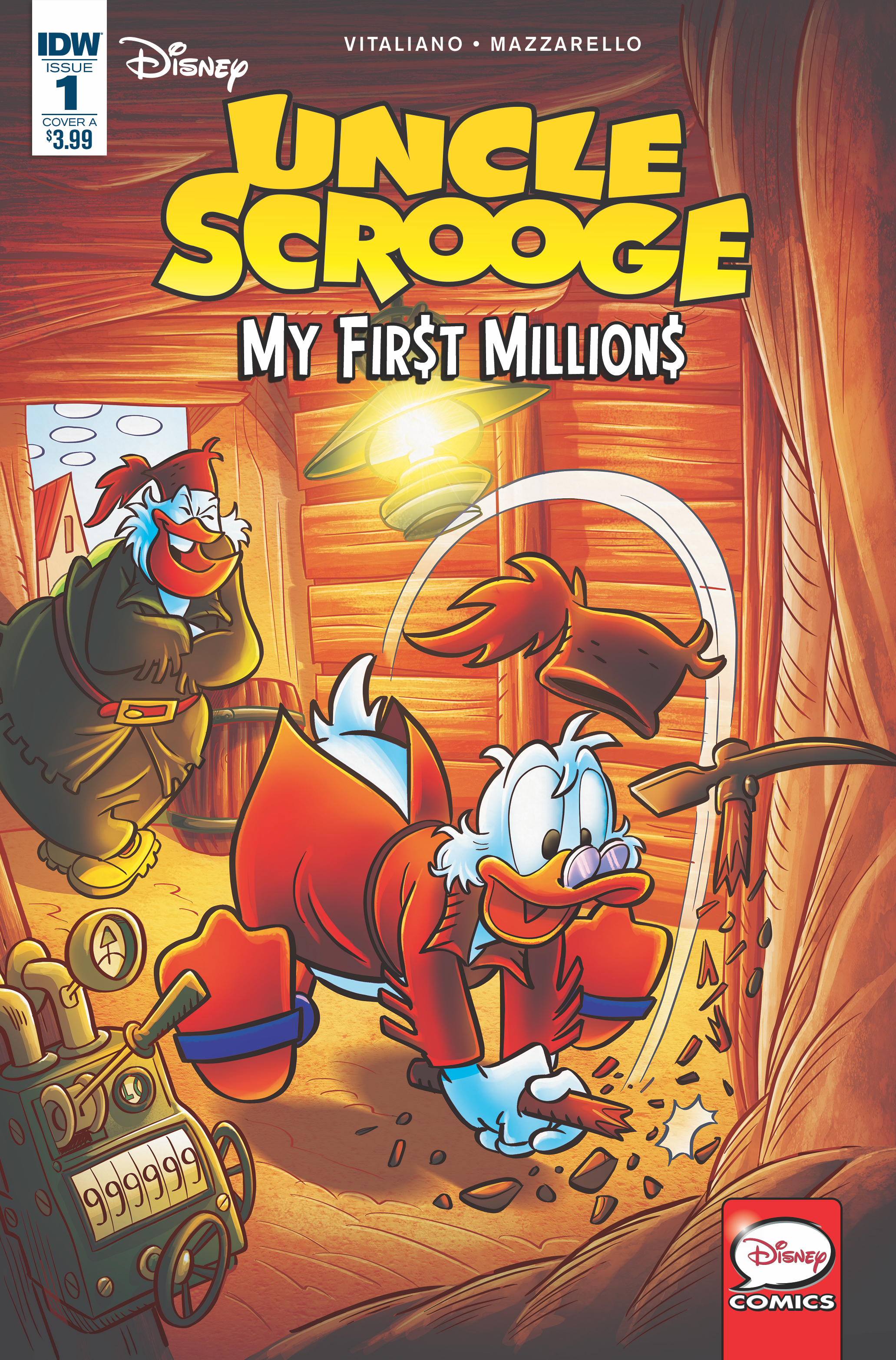 UNCLE SCROOGE MY FIRST MILLIONS #1