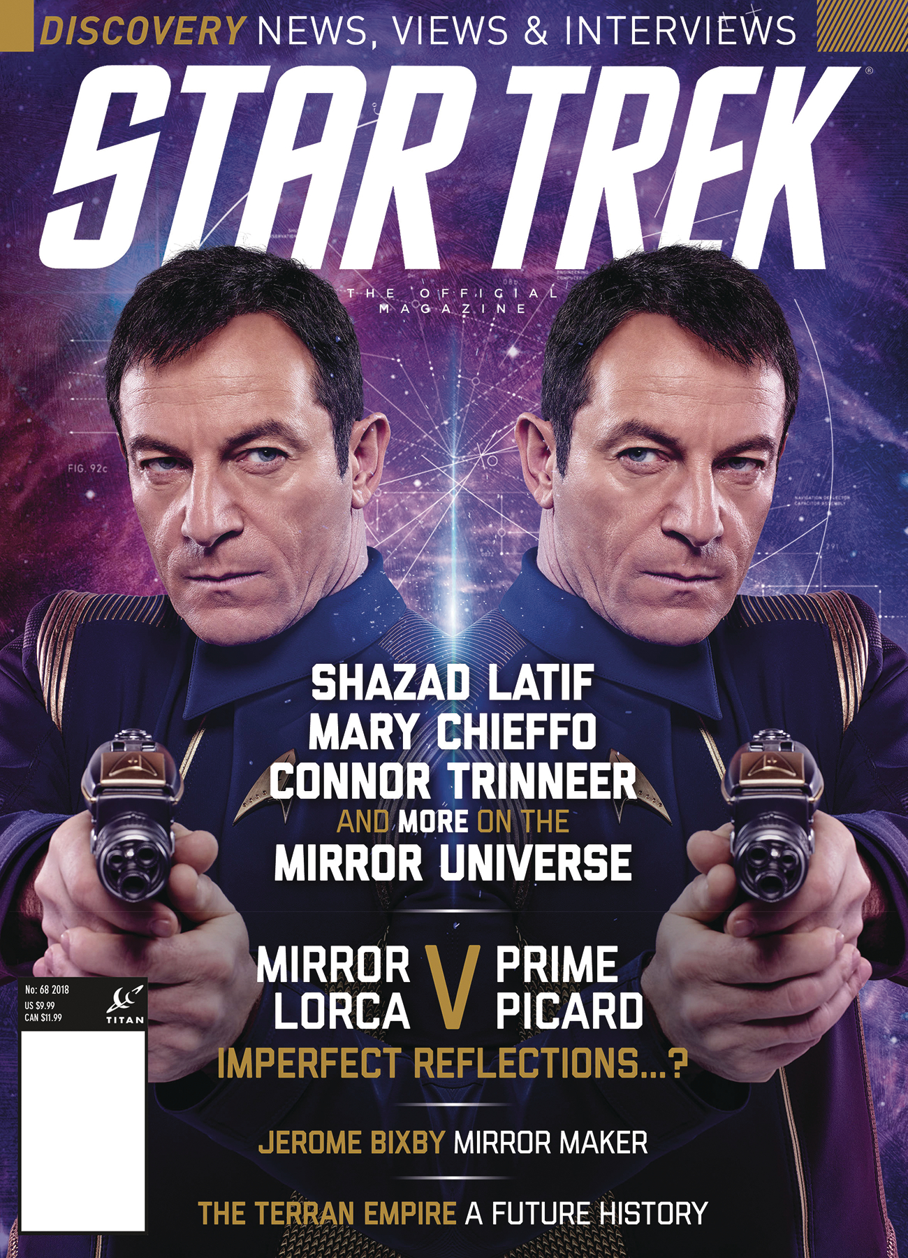STAR TREK MAGAZINE #68 NEWSSTAND ED