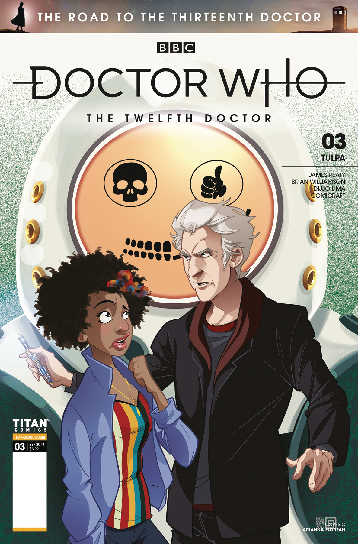 DOCTOR WHO ROAD TO 13TH DR #3 12TH CVR C FLOREAN