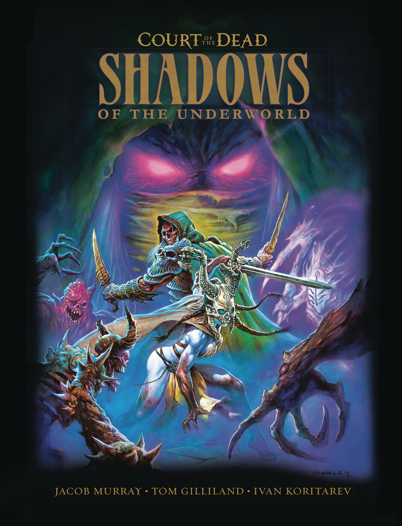 COURT OF DEAD SHADOWS OF UNDERWORLD HC GN