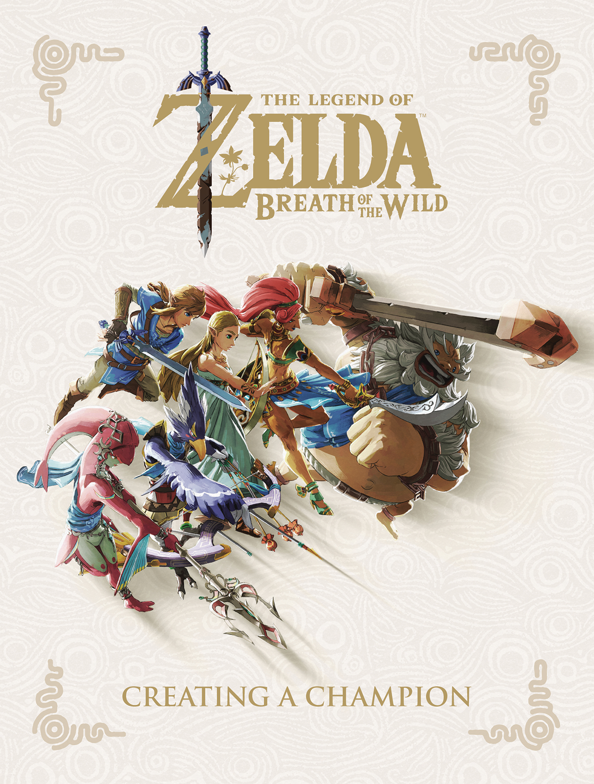 LEGEND OF ZELDA BREATH WILD CREATING A CHAMPION HC (JUL18042