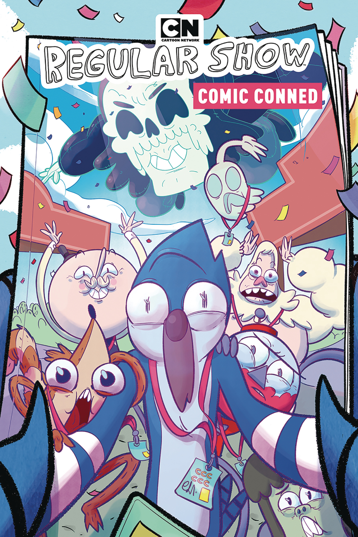 Recommend you Regular show comics theme, very