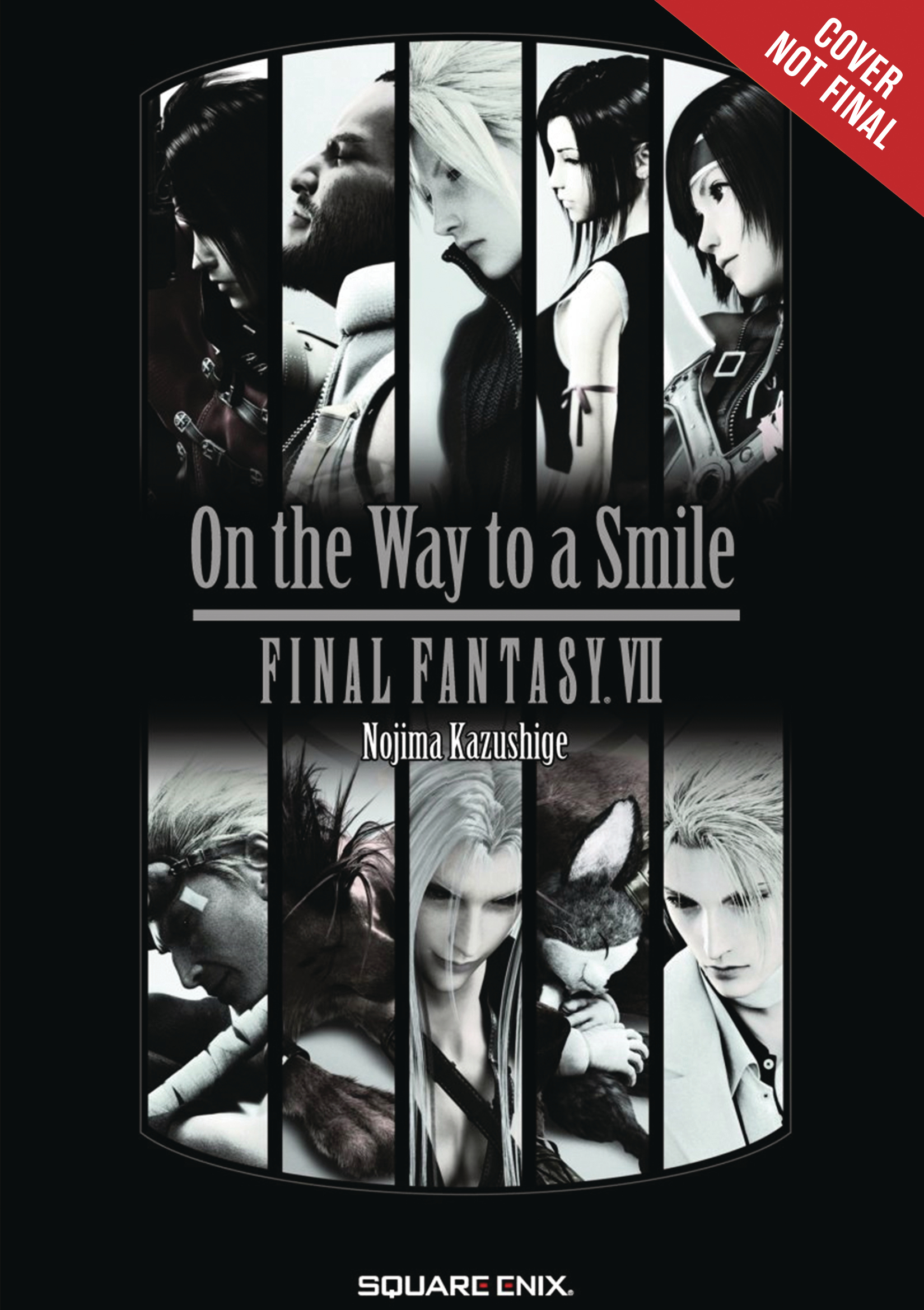 FINAL FANTASY VII 7 ON WAY TO SMILE NOVEL SC VOL 01