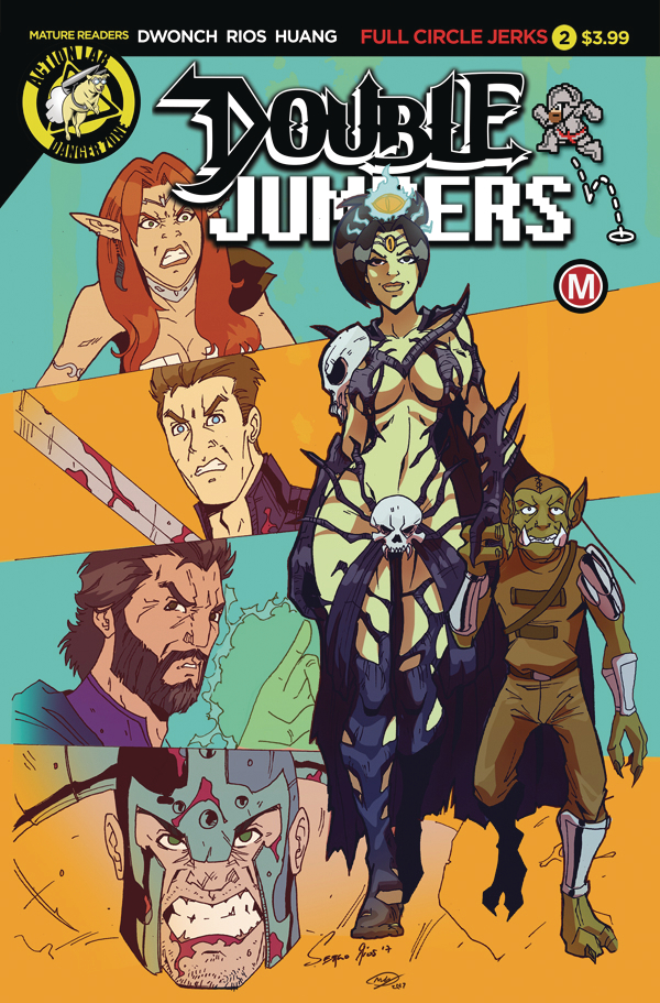 DOUBLE JUMPERS FULL CIRCLE JERKS #2 (OF 4) CVR A RIOS (MR)