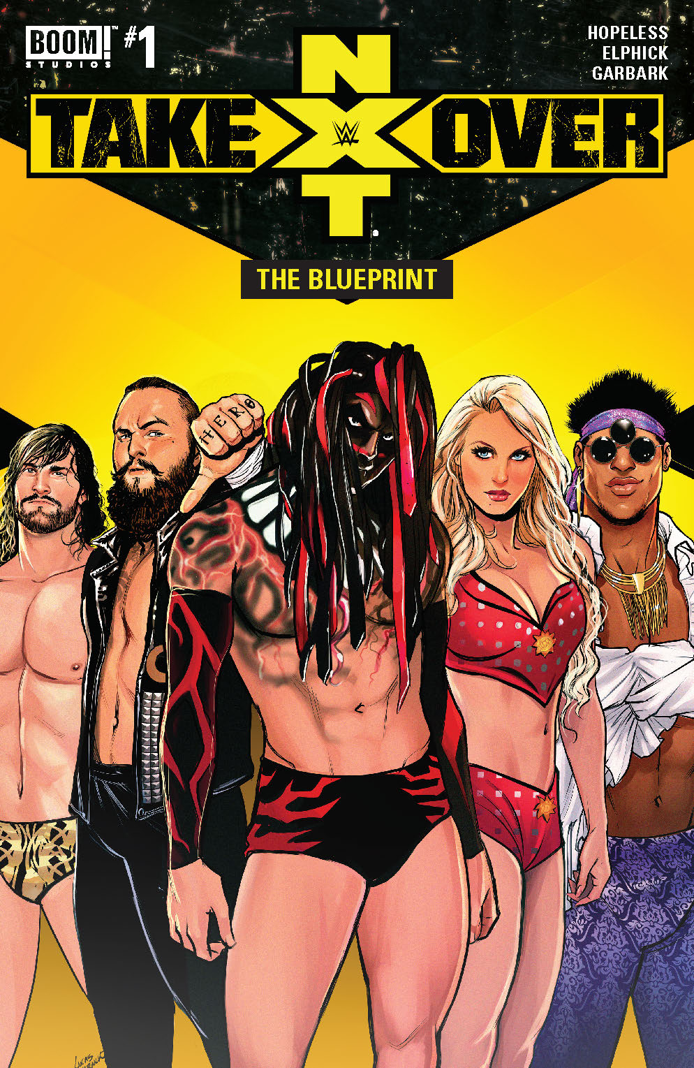 WWE NXT TAKEOVER BLUEPRINT #1 MAIN