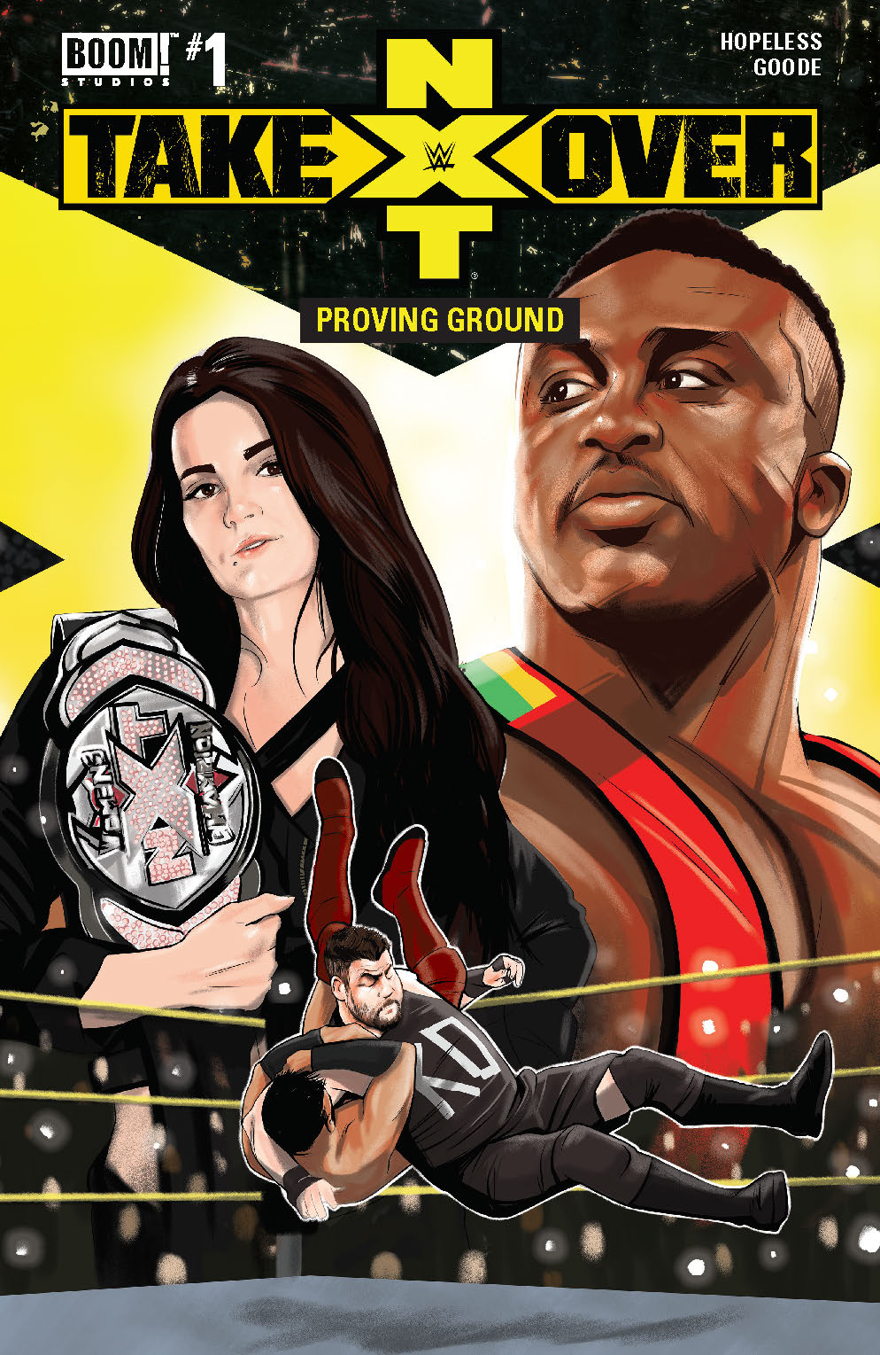 WWE NXT TAKEOVER PROVING GROUND #1 MAIN