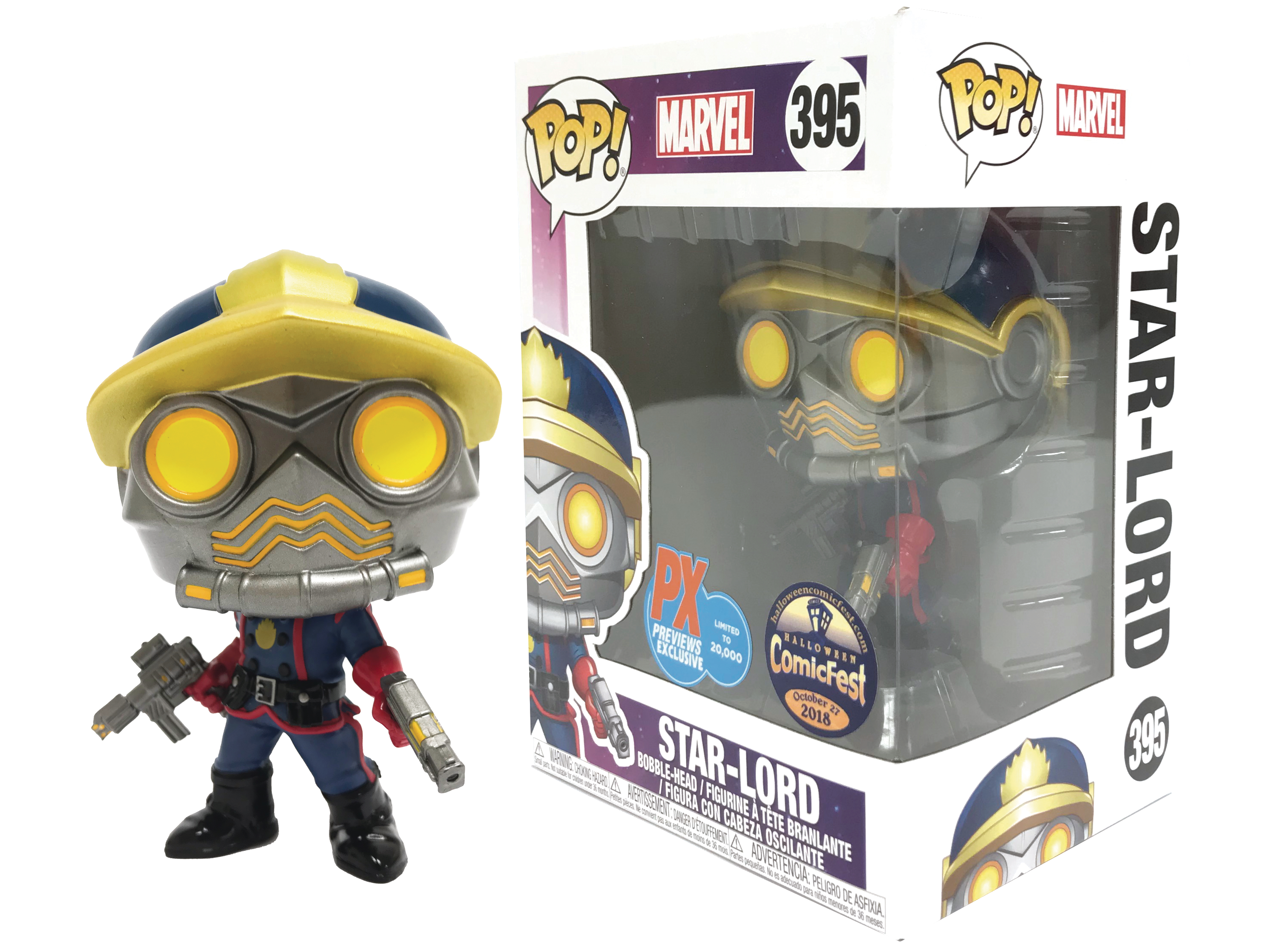 HCF 2018 POP MARVEL GOTG STAR LORD CLASSIC PX VIN FIG
