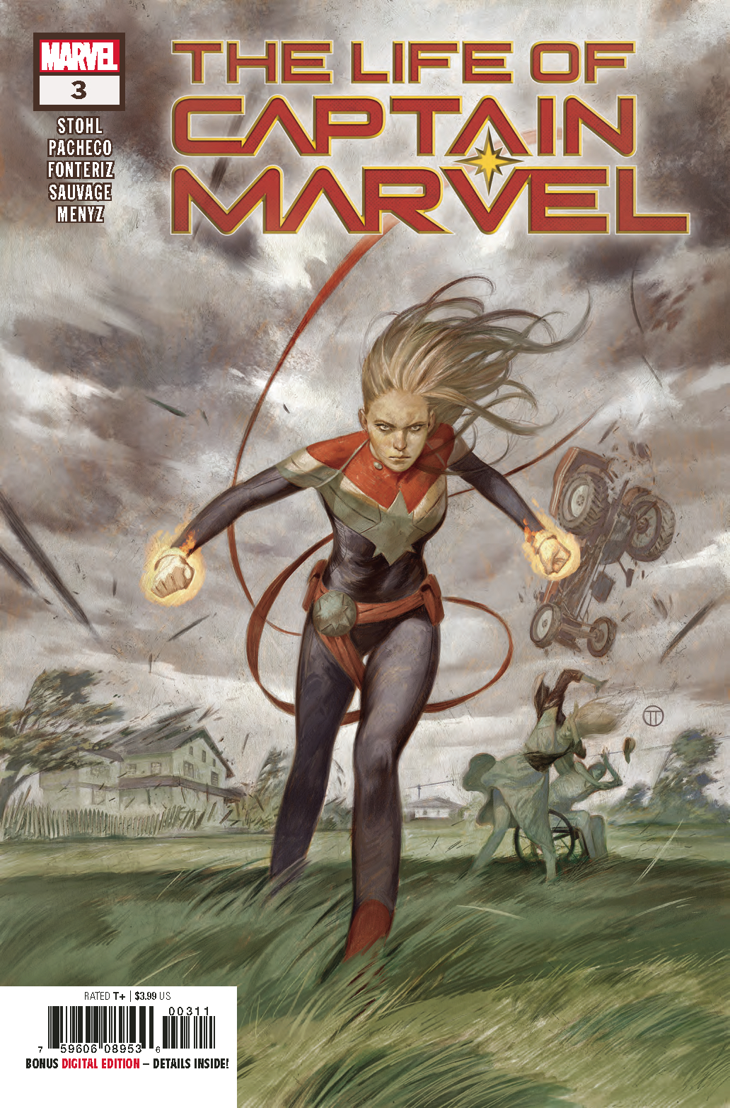 LIFE OF CAPTAIN MARVEL #3 (OF 5)