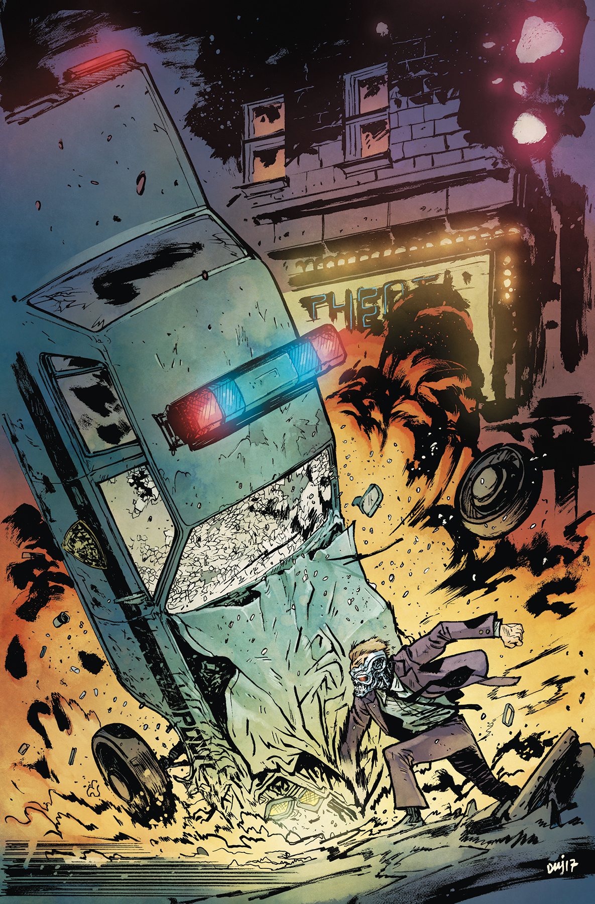 TERMINATOR SECTOR WAR #2 (OF 4) CVR B