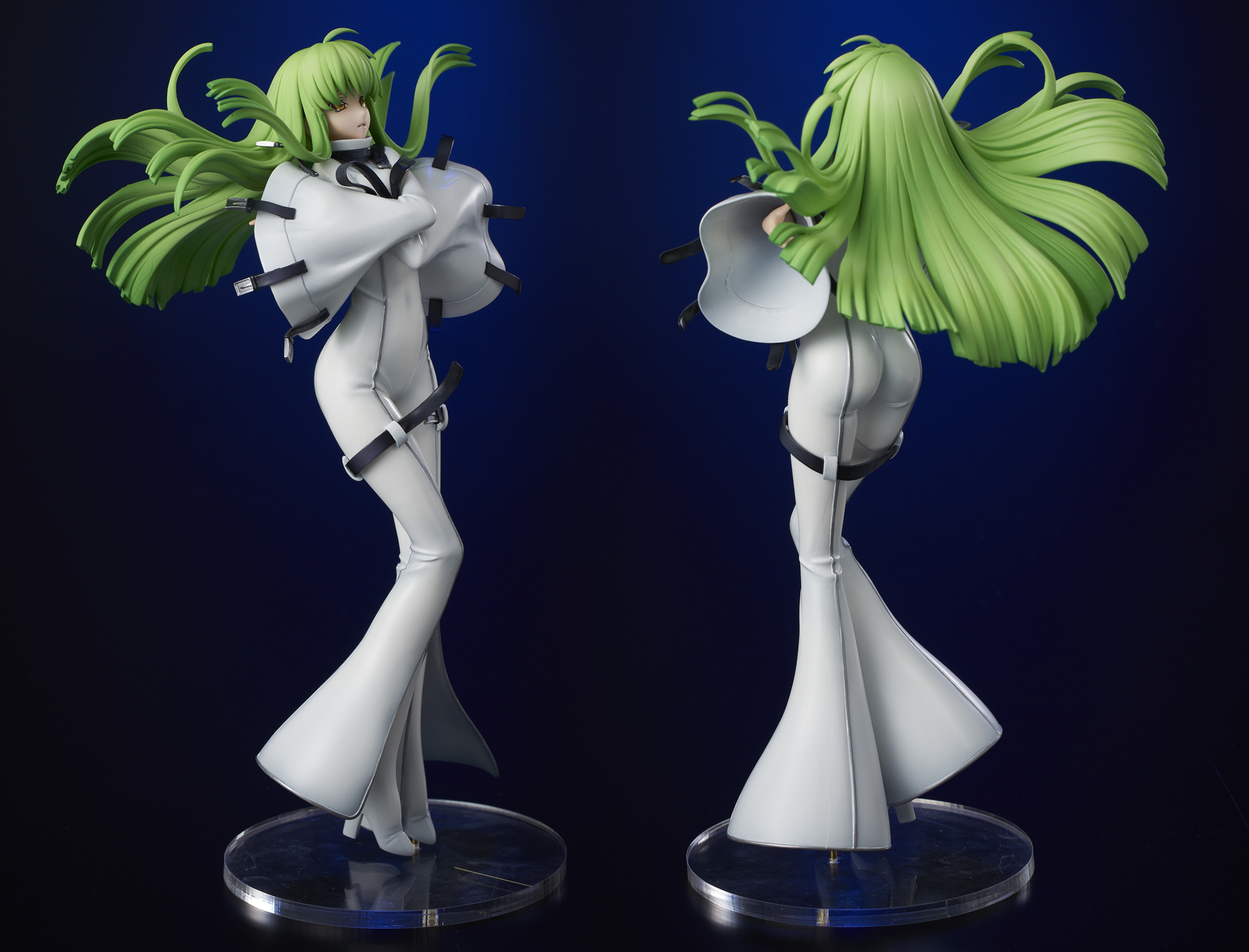 CODE GEASS LELOUCH OF THE REBELLION CC PVC FIGURE