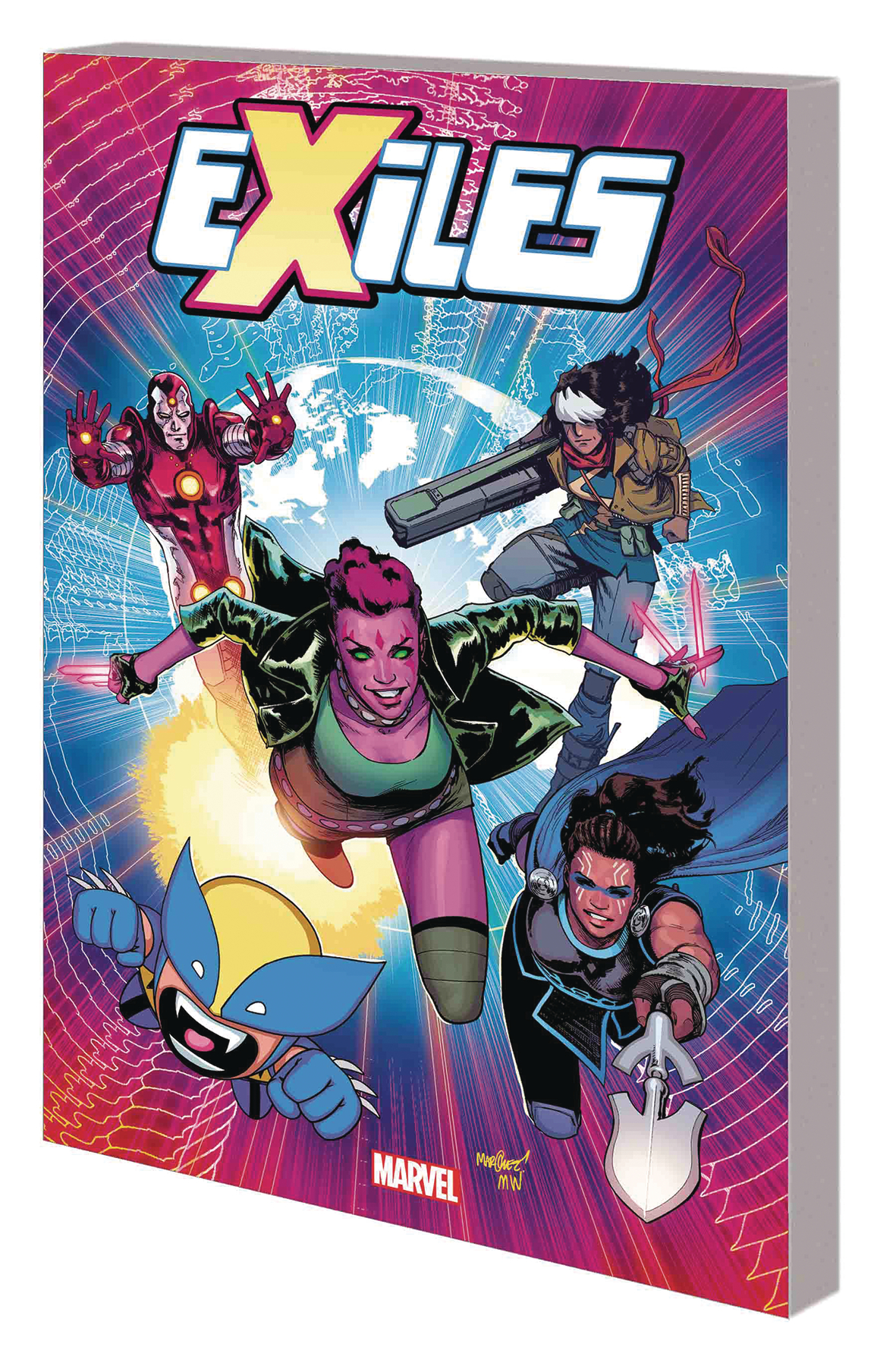 EXILES TP VOL 01 TEST OF TIME