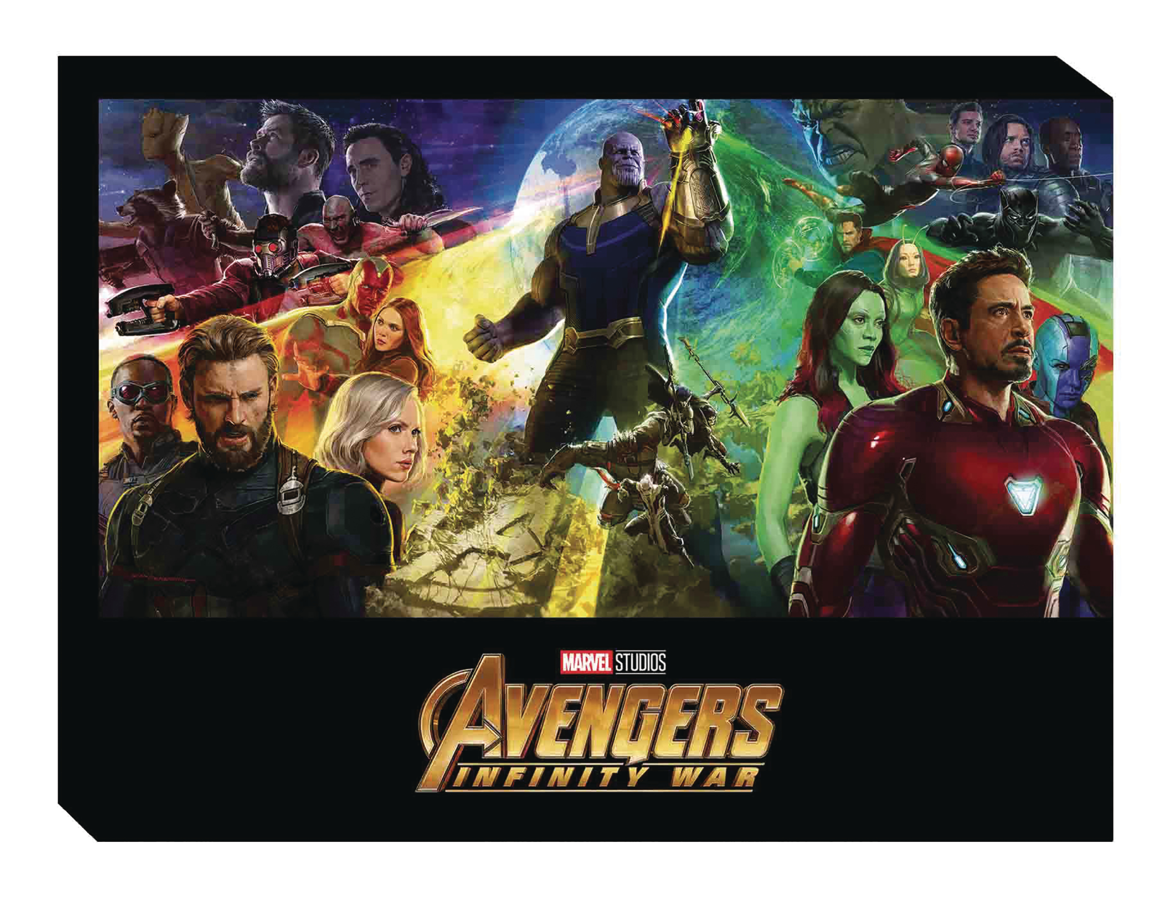 MARVELS AVENGERS INFINITY WAR HC ART OF MOVIE SLIPCASE