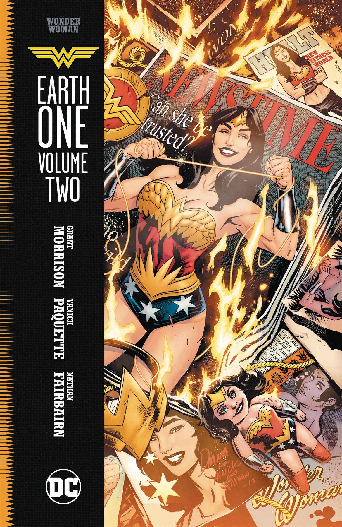WONDER WOMAN EARTH ONE HC VOL 02