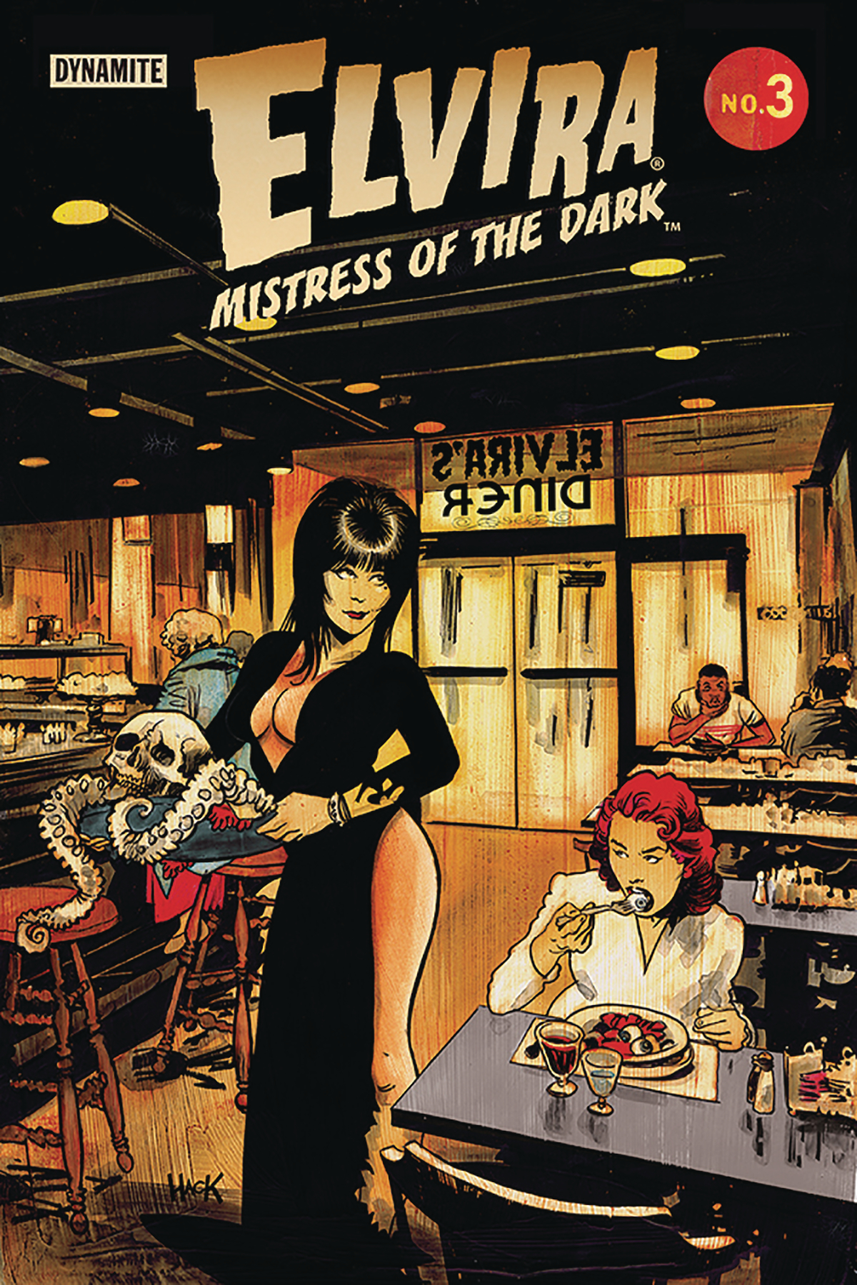 ELVIRA MISTRESS OF DARK #3 CVR C HACK