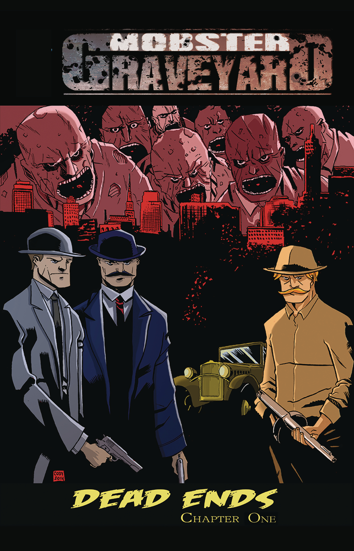 MOBSTER GRAVEYARD #1 (OF 5)
