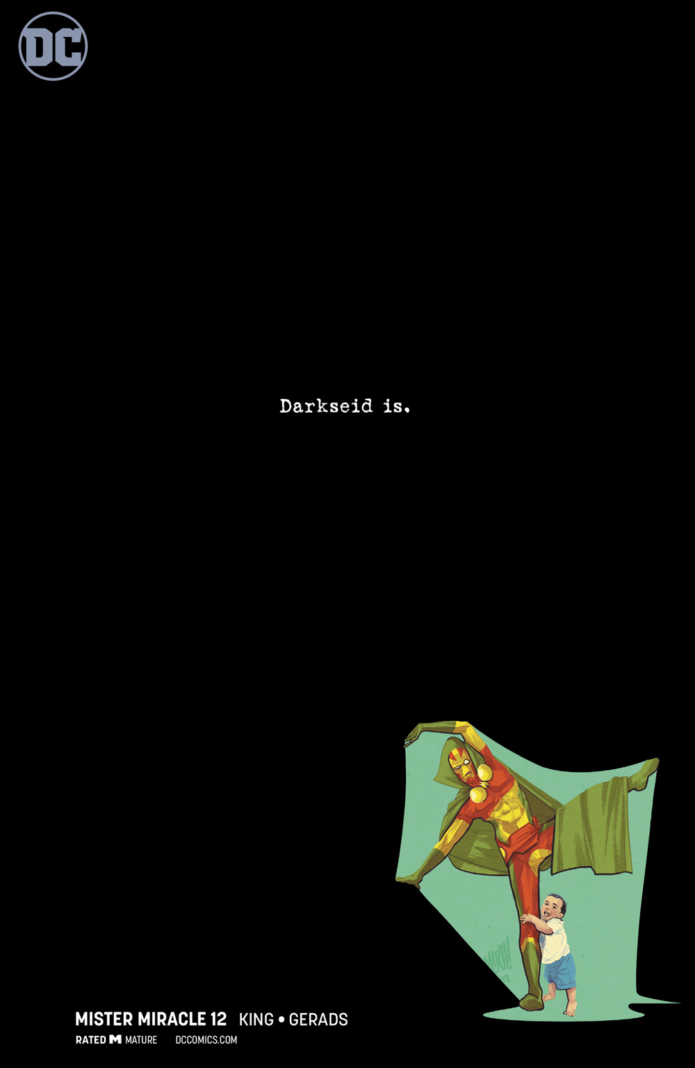MISTER MIRACLE #12 (OF 12) VAR ED (MR)
