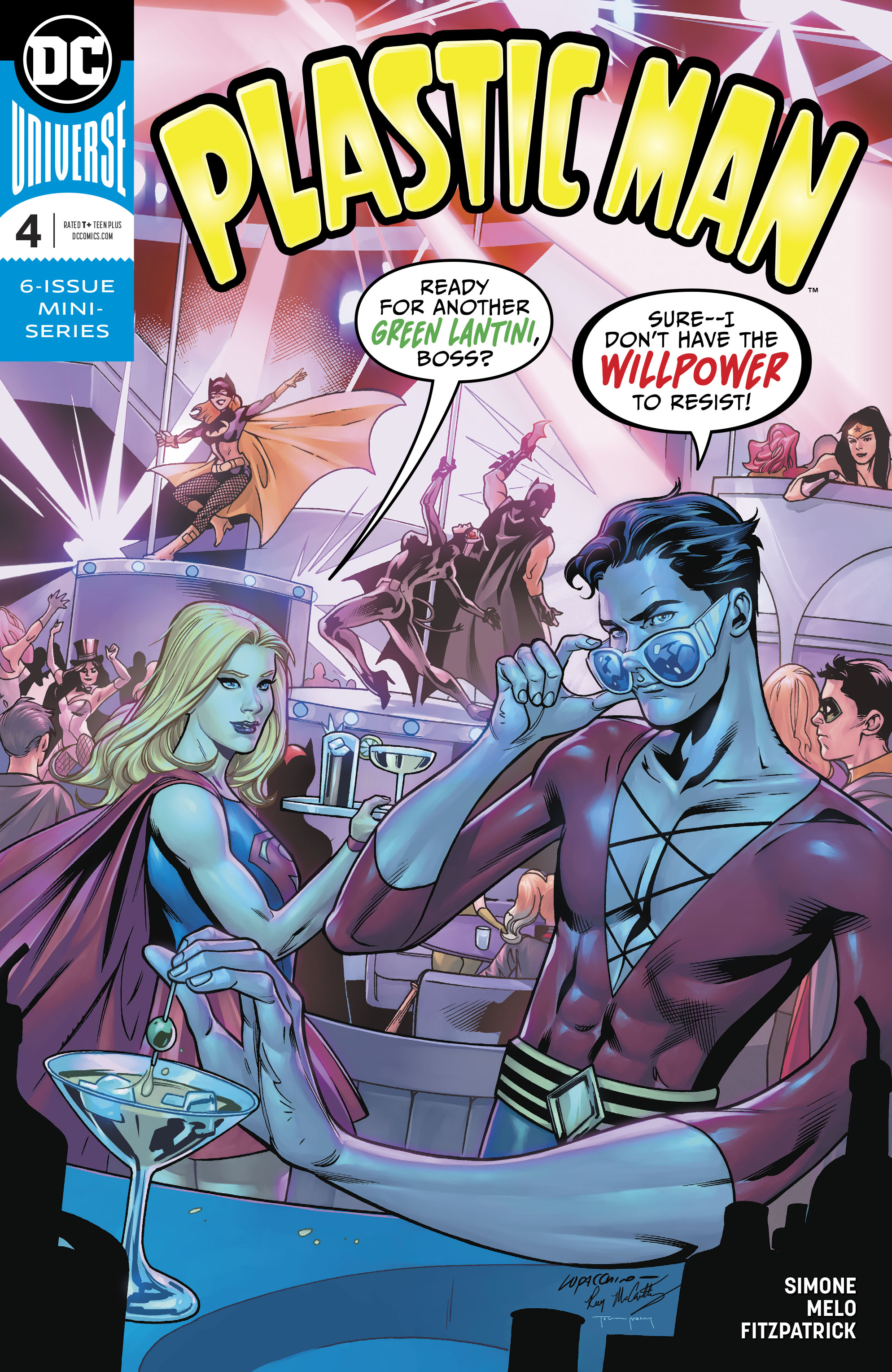 PLASTIC MAN #4 (OF 6)