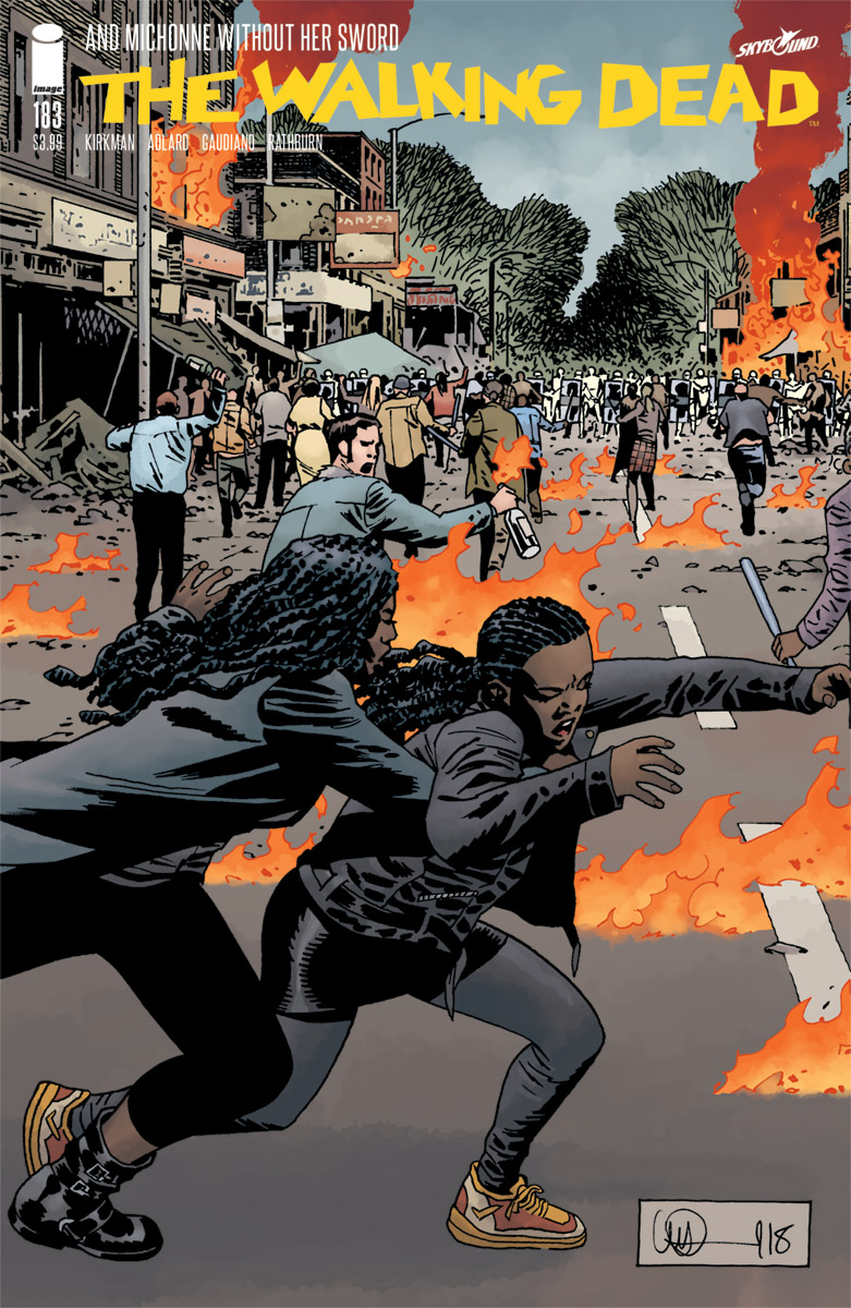 WALKING DEAD #183 CVR A ADLARD & STEWART (MR)