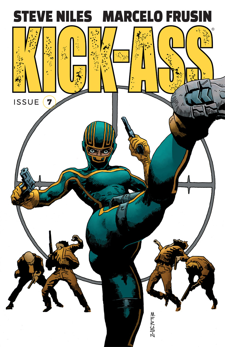 KICK-ASS #7 CVR A FRUSIN (MR)