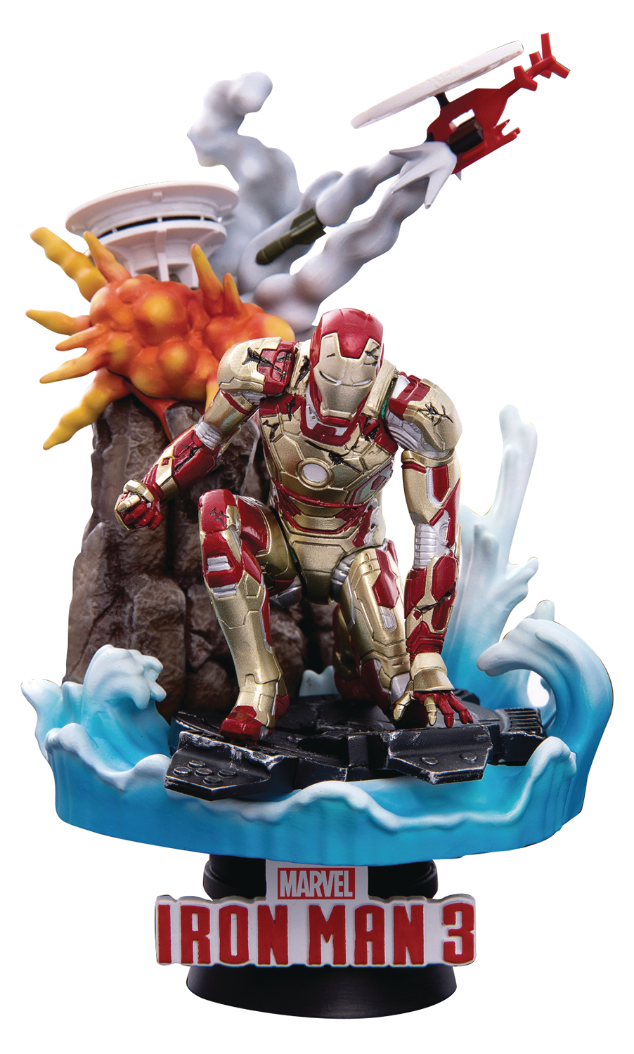 IRON MAN MK42 DS-016SP D-STAGE SERIES PX 6IN STATUE