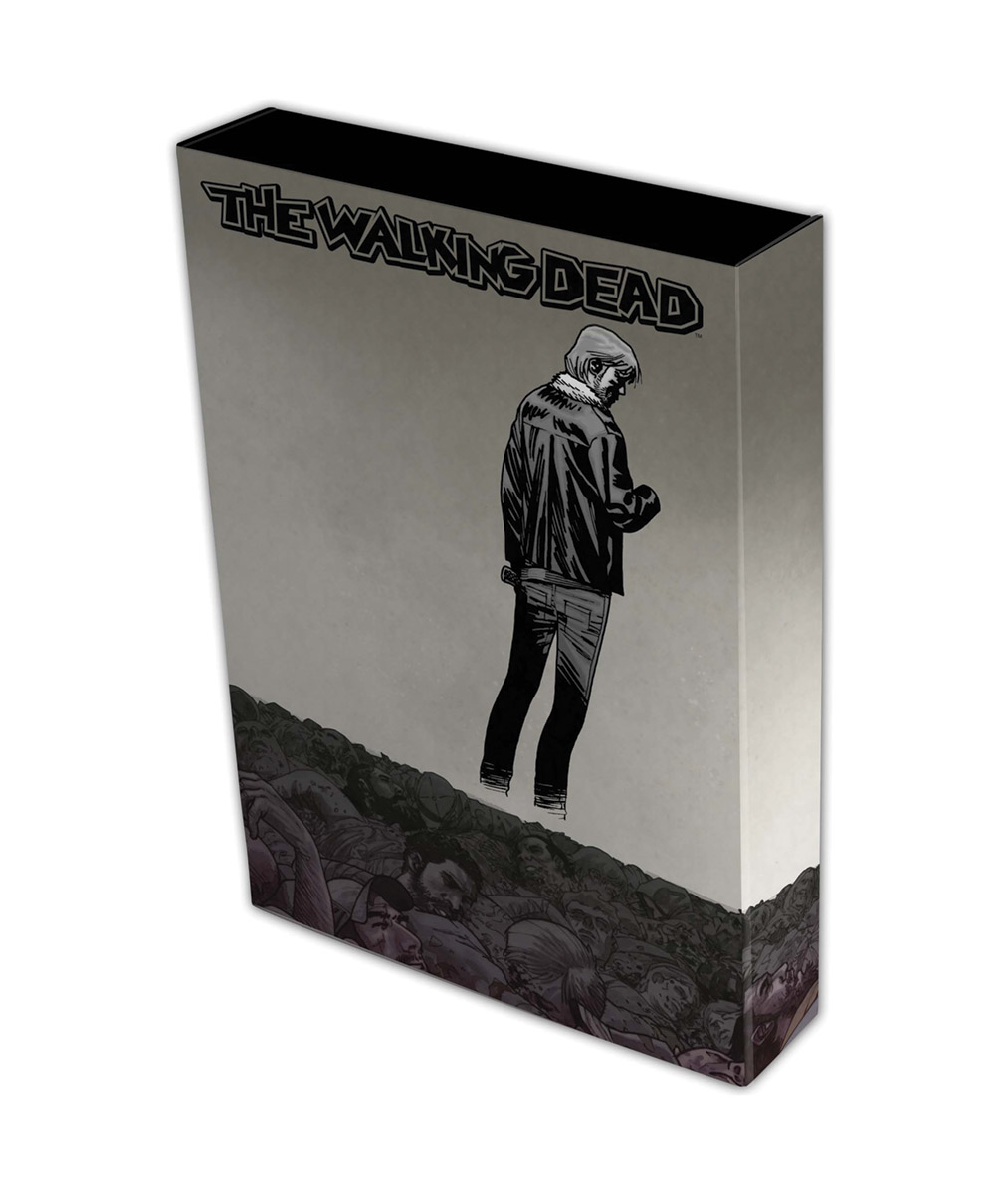 WALKING DEAD COMIC STOR-FOLIO RICK