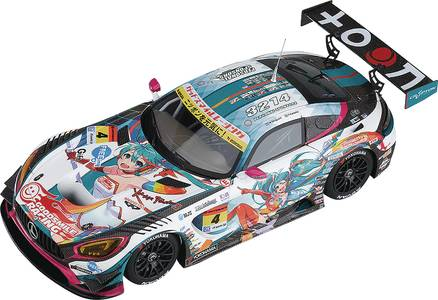 HATSUNE MIKU GT PROJECT 1/43 MINI CAR AMG 2016 OPENING VER