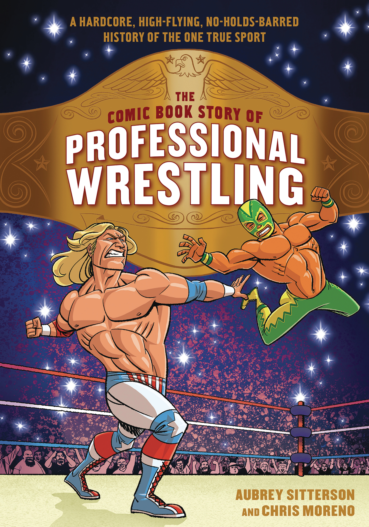 COMIC BOOK STORY OF PROFESSIONAL WRESTLING GN