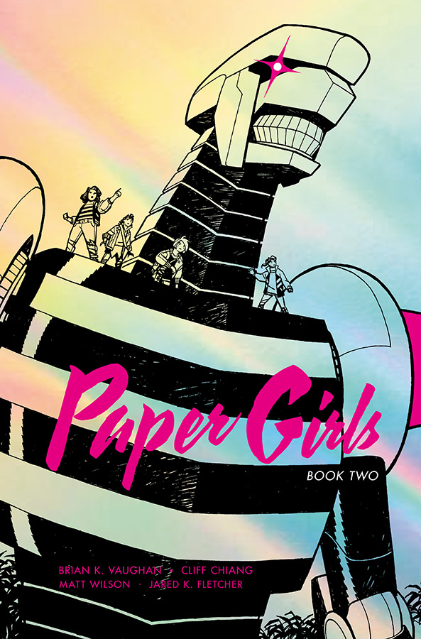 PAPER GIRLS DLX ED HC VOL 02 (O/A)