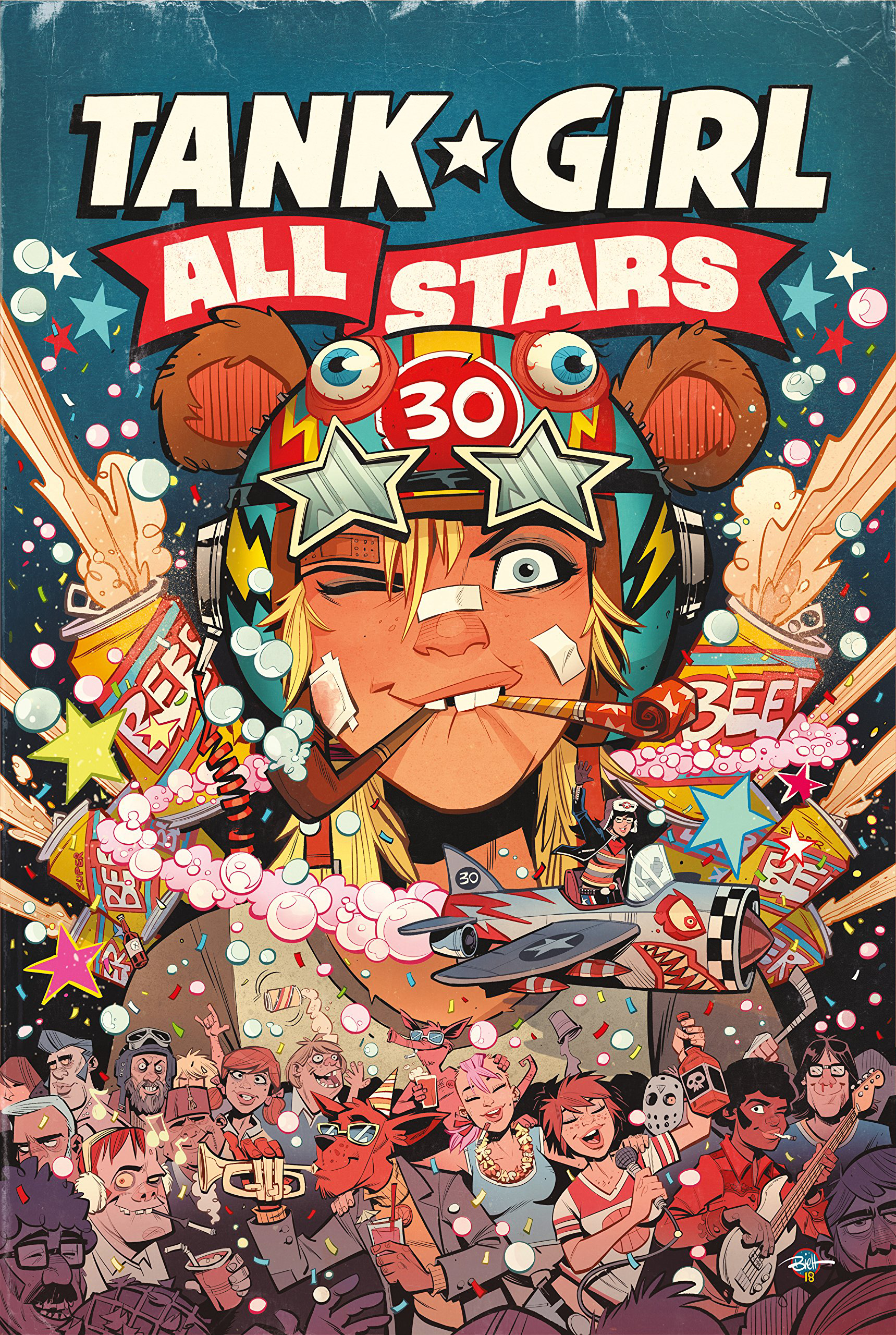 TANK GIRL ALL STARS HC (MR)