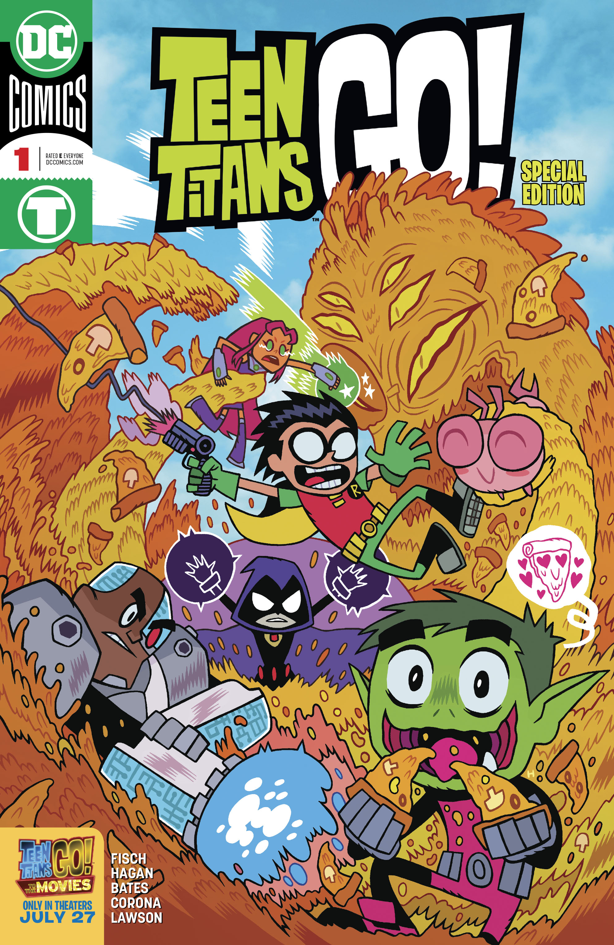 TEEN TITANS GO TO THE MOVIES #1