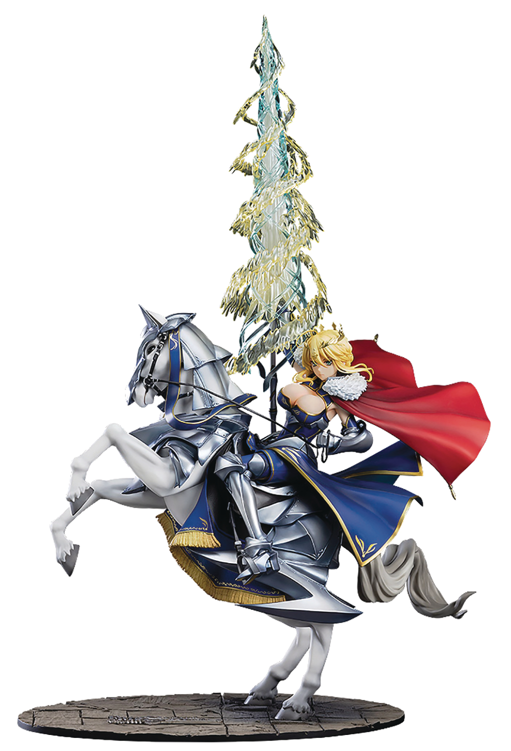 FATE GRAND ORDER LANCER ALTRIA PENDRAGON 1/8 PVC FIG