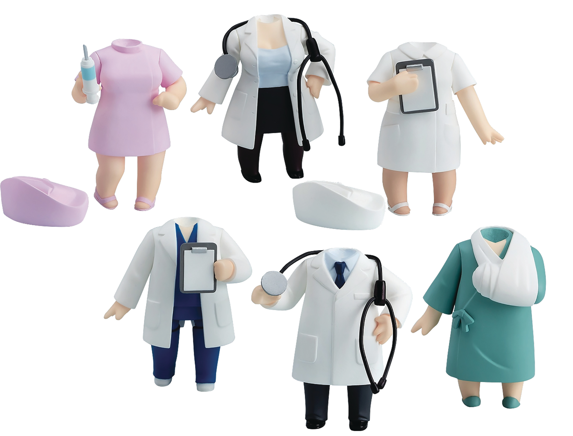 NENDOROID MORE DRESS UP CLINIC 6PC BMB DS