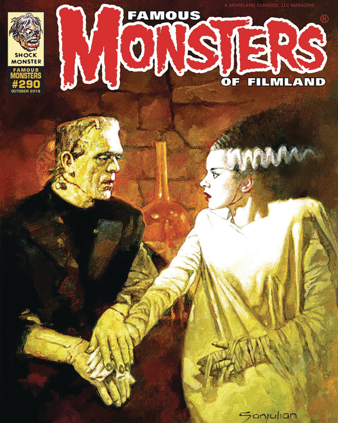 FAMOUS MONSTERS OF FILMLAND #290 2018 ANNUAL